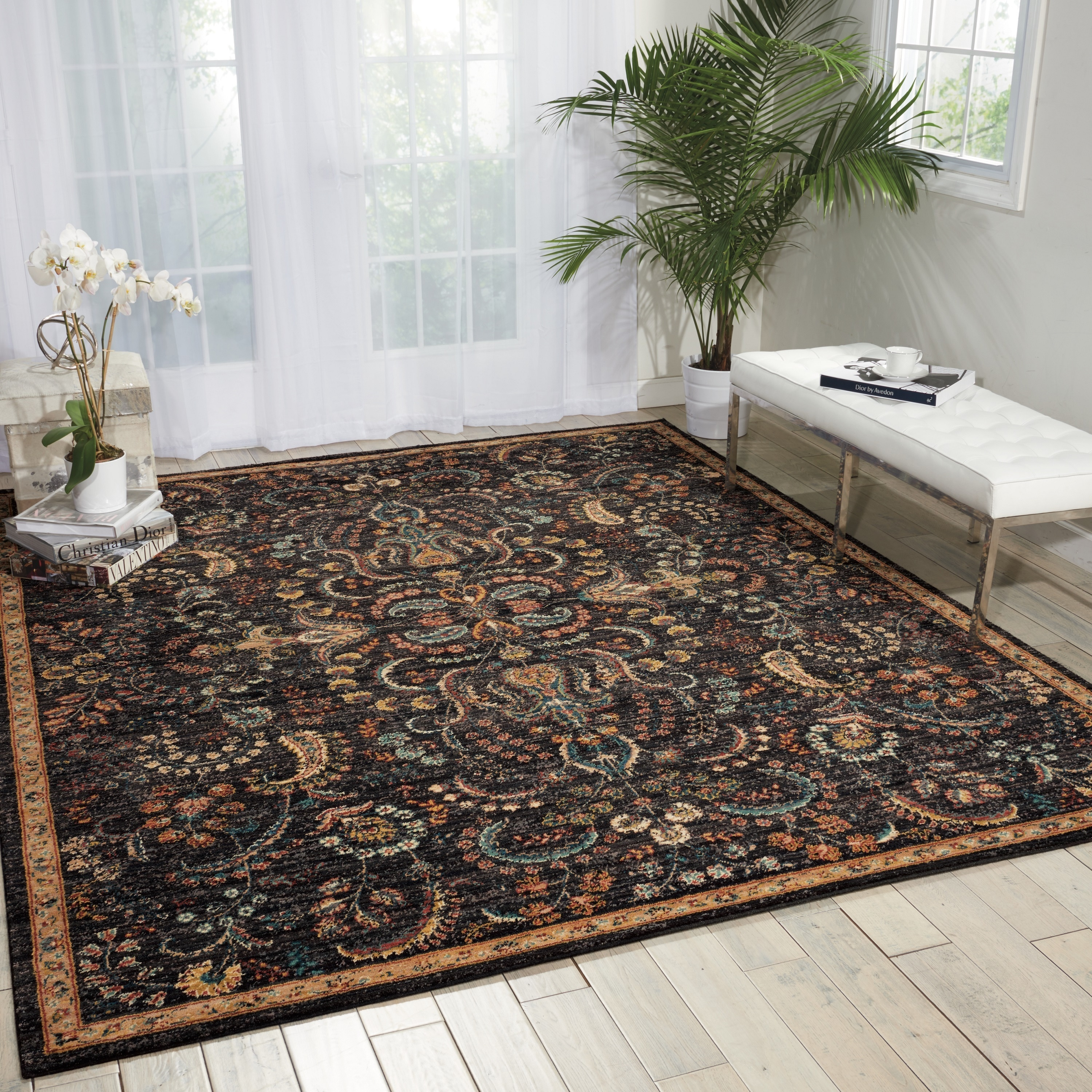 Nourison 2020 Night Fall Area Rug 9 2 X 12 5 Free Shipping Today 19406095