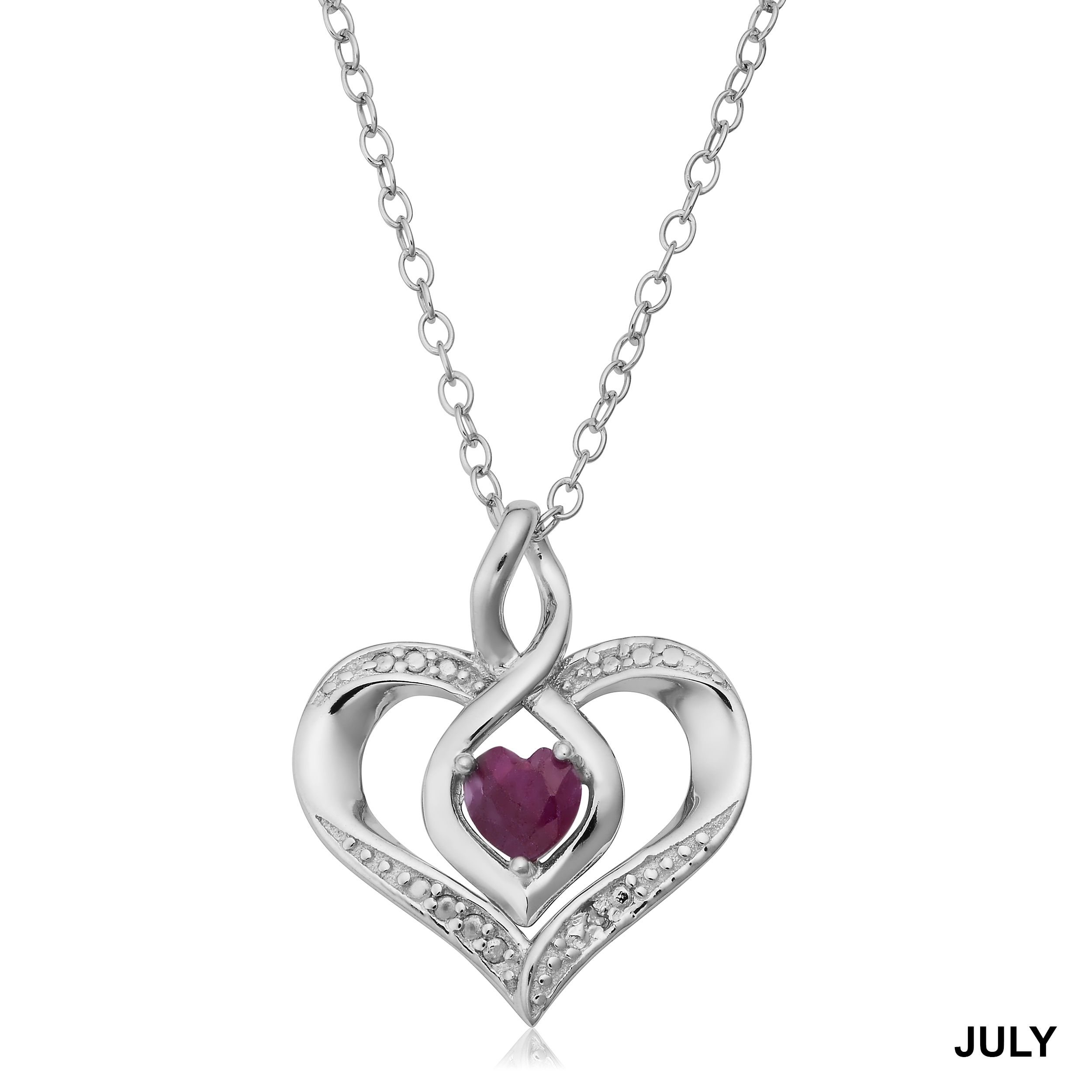 heart solitaire zirconia silver bling pheart necklace n cubic ct cz sterling pendant jewelry inches carat jewellery