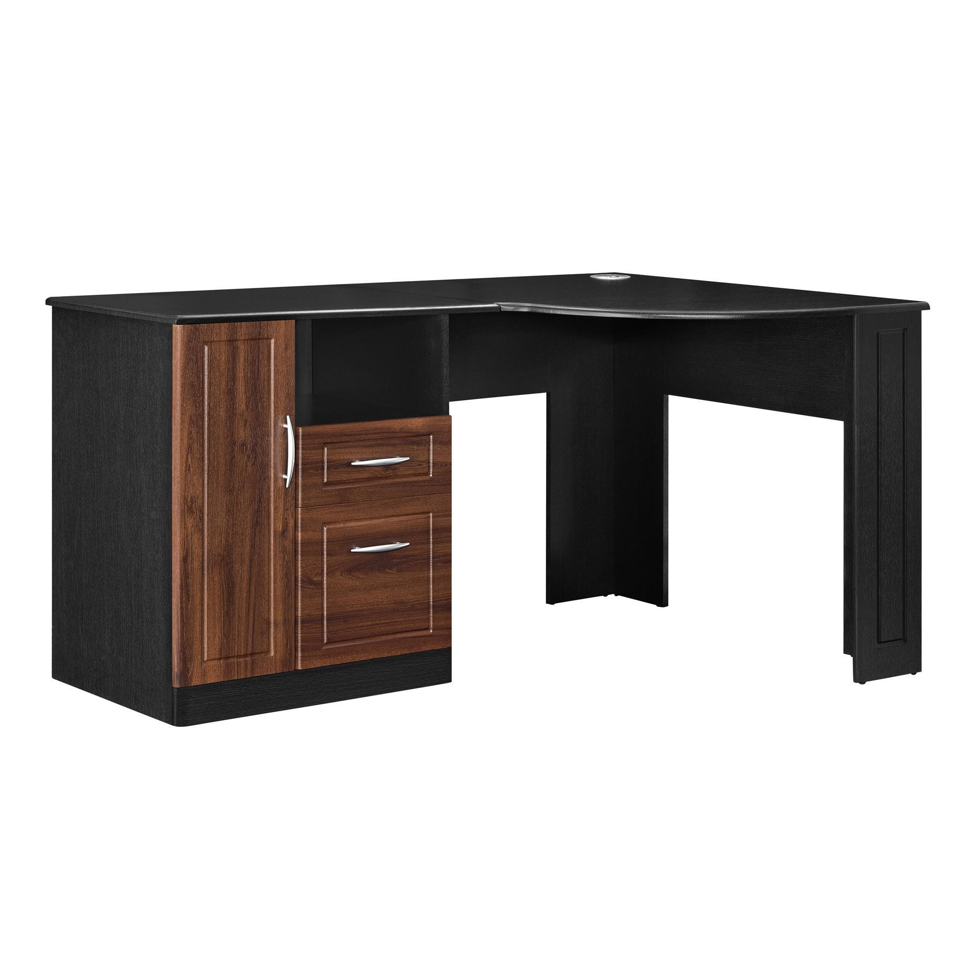 brown charming check modern ikea more lovely hand small corner galant furniture desk second computer at black