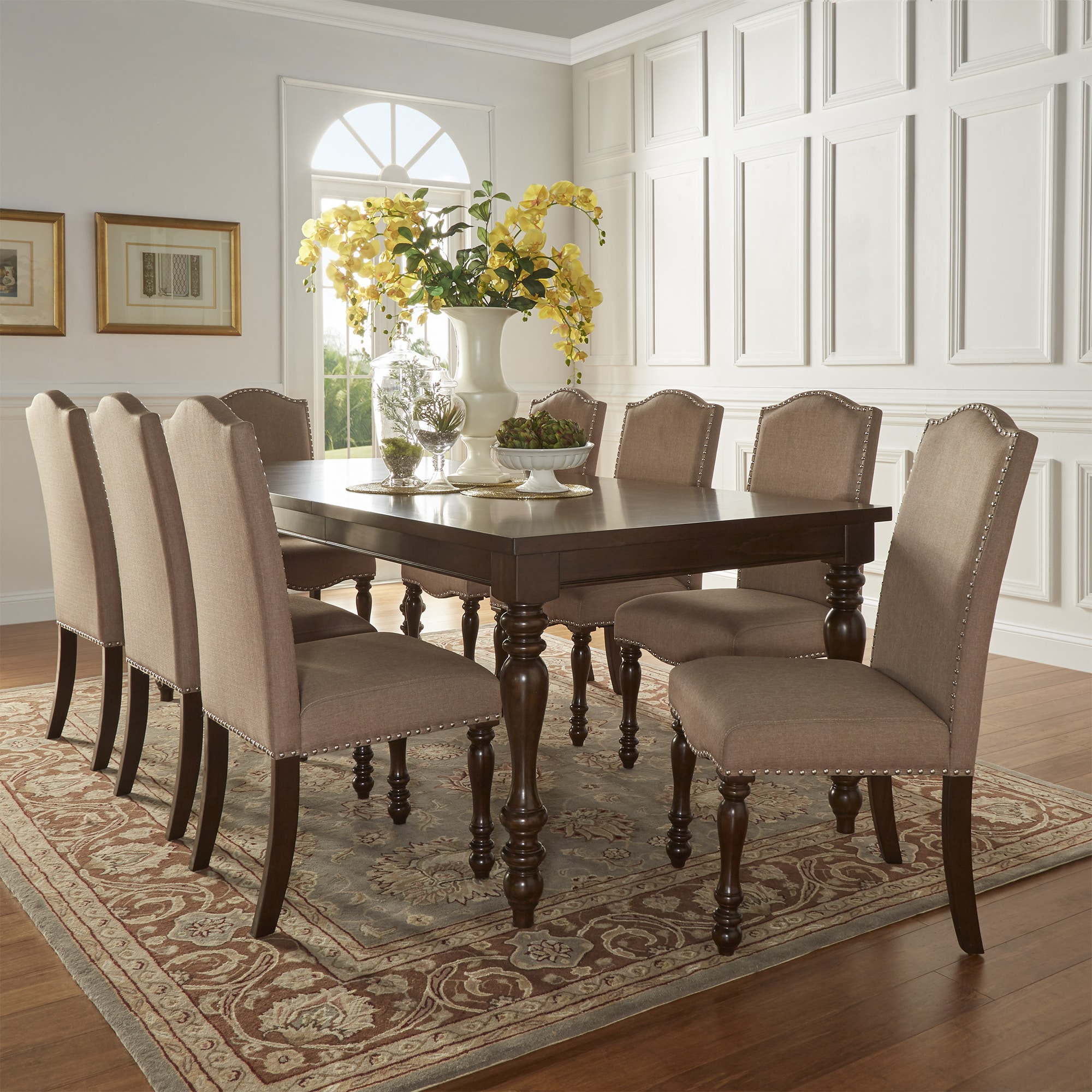 Attirant Shop Parisian Rectangular Extending Dining Table By INSPIRE Q Classic   On  Sale   Free Shipping Today   Overstock.com   12615615