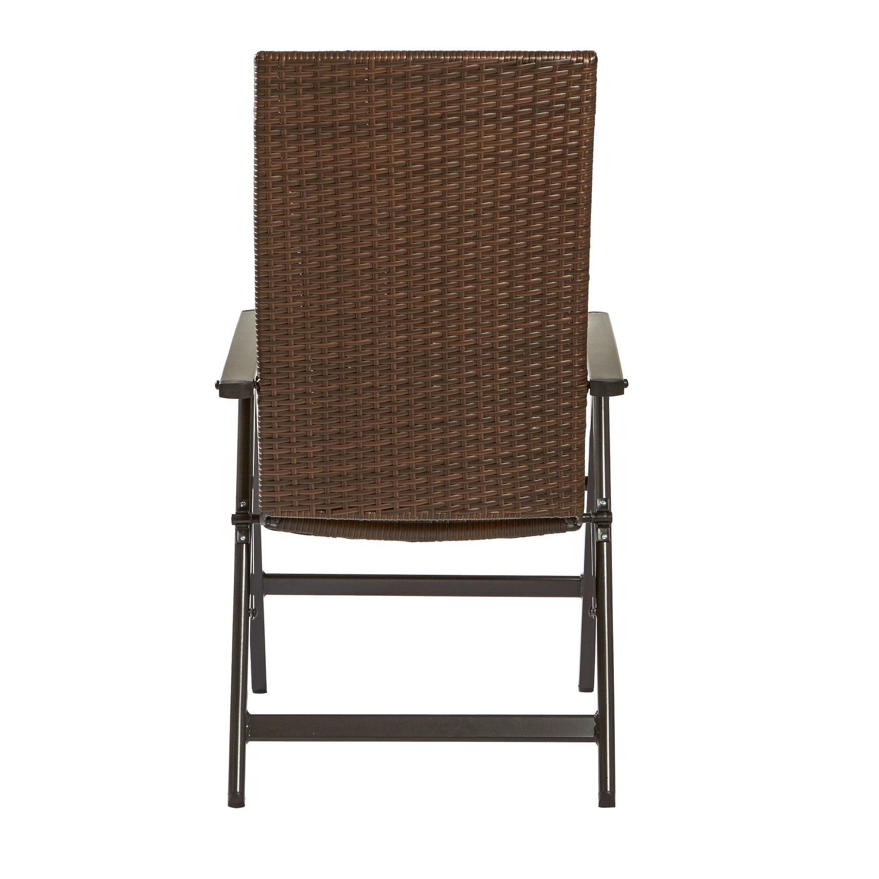 Shop Clay Alder Home Robyville Brown PE Wicker Hand Woven Outdoor ...