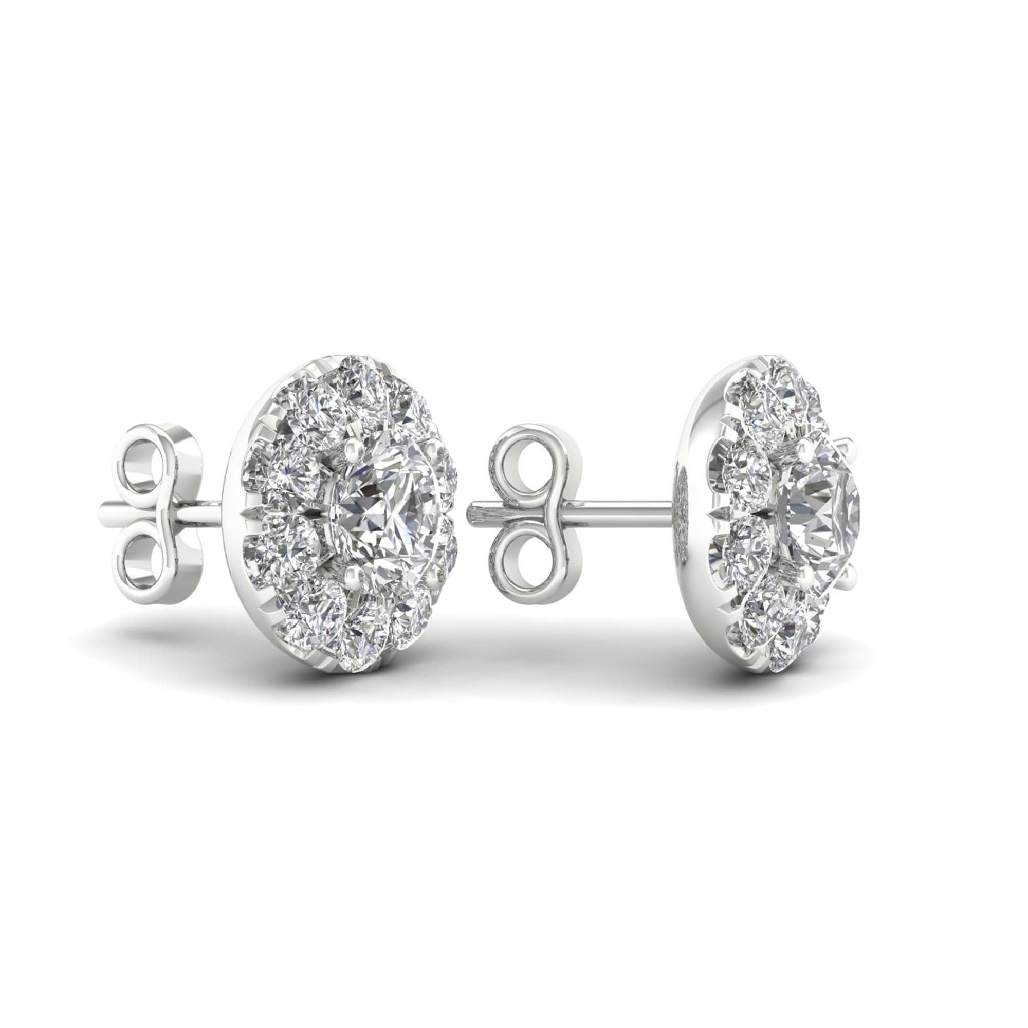 sterling spo uk online products earrings shop befc leverback miadora silver diamond tdw halo