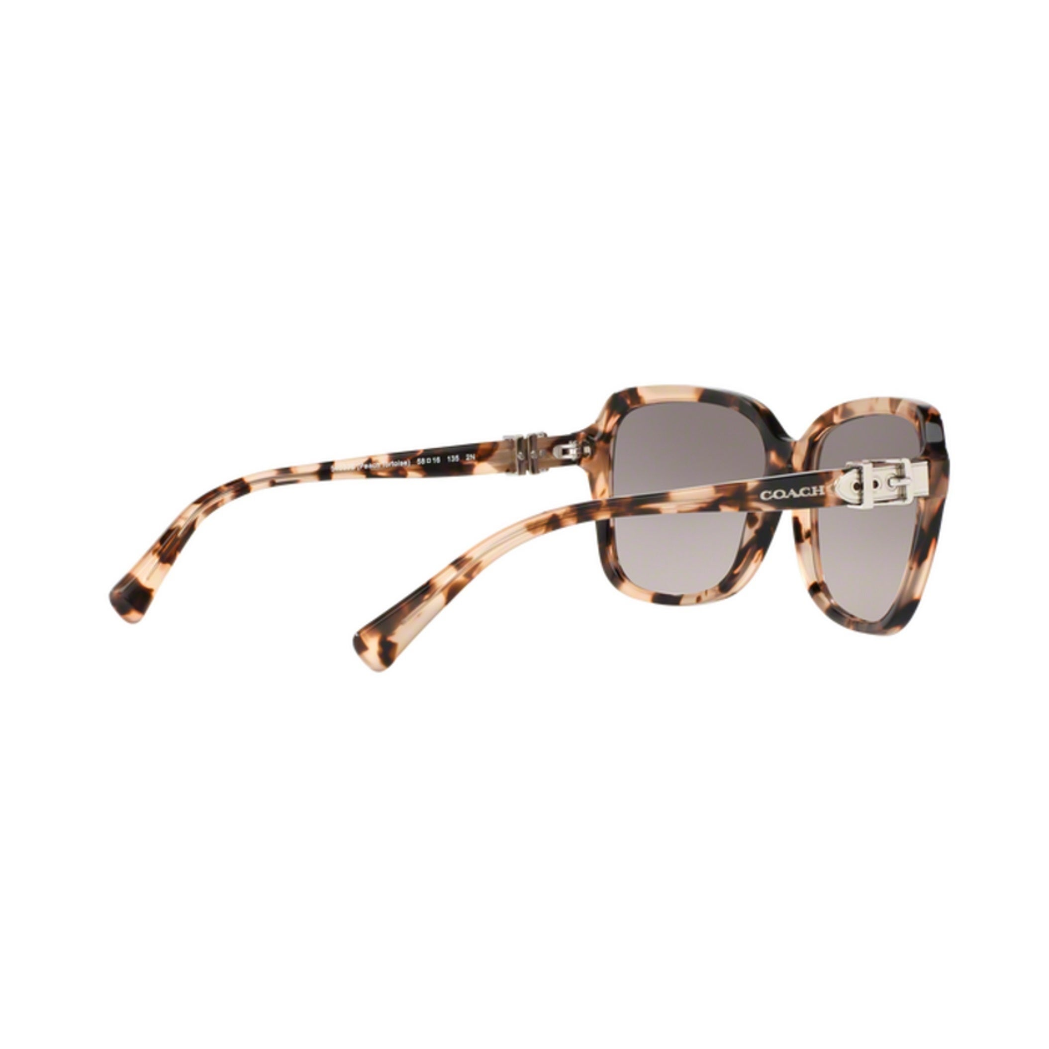 b5ef0b3fbd849 Shop Coach HC8179 L1598 54033B Peach Tortoise Womens Plastic Square  Sunglasses - Free Shipping Today - Overstock - 12646993