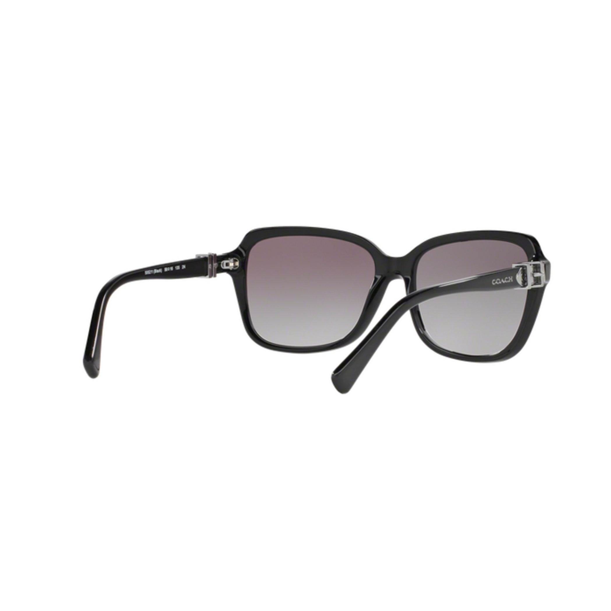 436d54747974e Shop Coach HC8179 L1598 500211 Black Womens Plastic Square Sunglasses -  Free Shipping Today - Overstock - 12647026