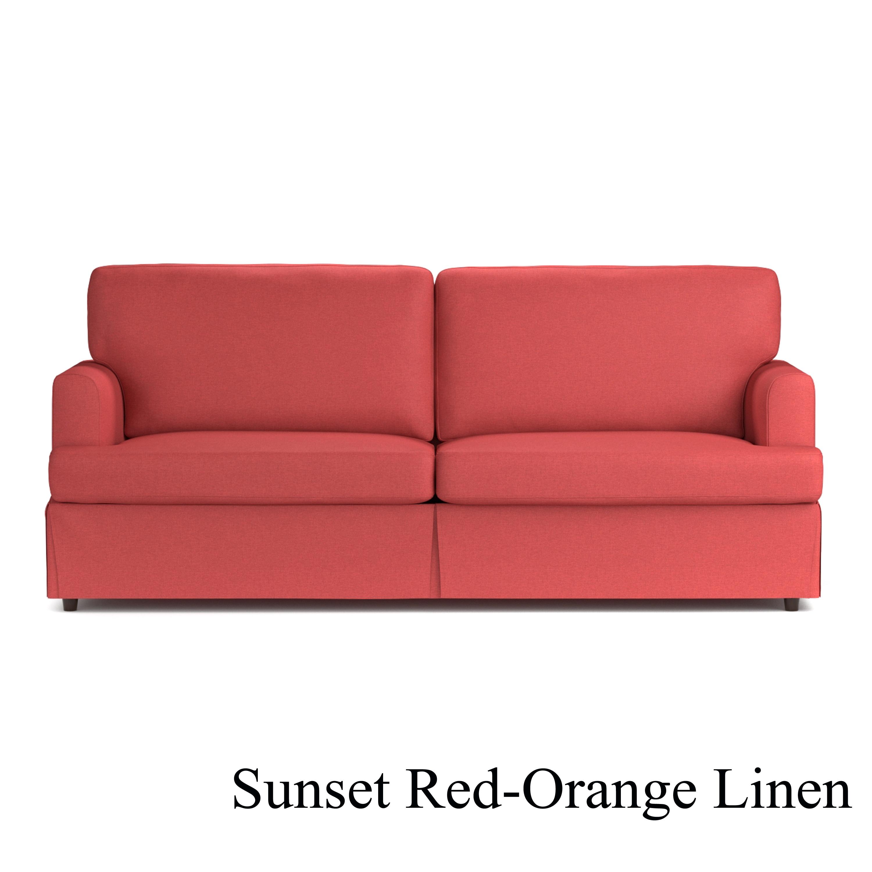 Shop Handy Living Undercover Custom Orlando SoFast Sofa with Skirted ...