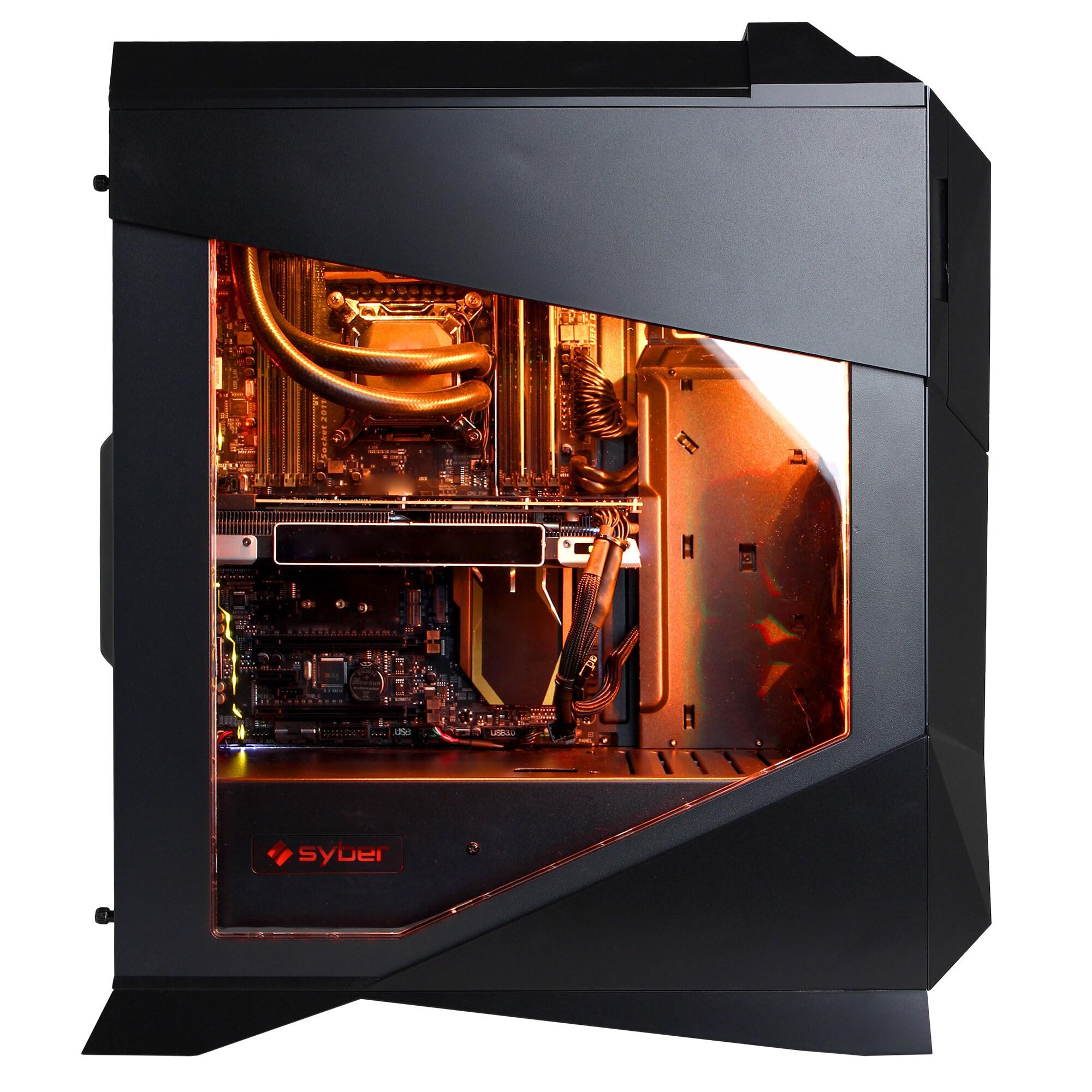 Syber M SMVR300LQ With Intel i7-6700K 4 0-gigahertz Gaming Computer