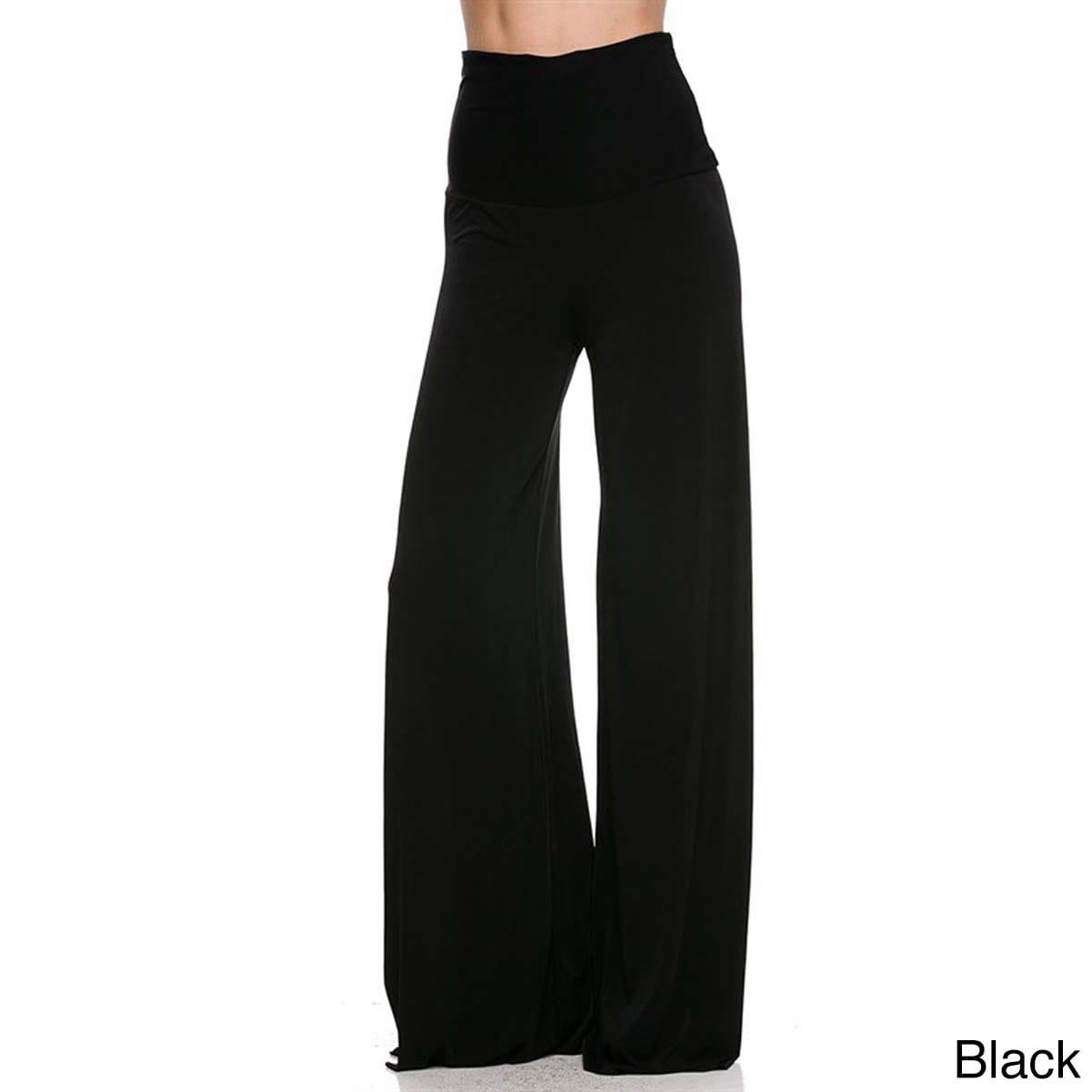 Shop Jed Women S Solid High Waist Wide Leg Super Stretch Palazzo