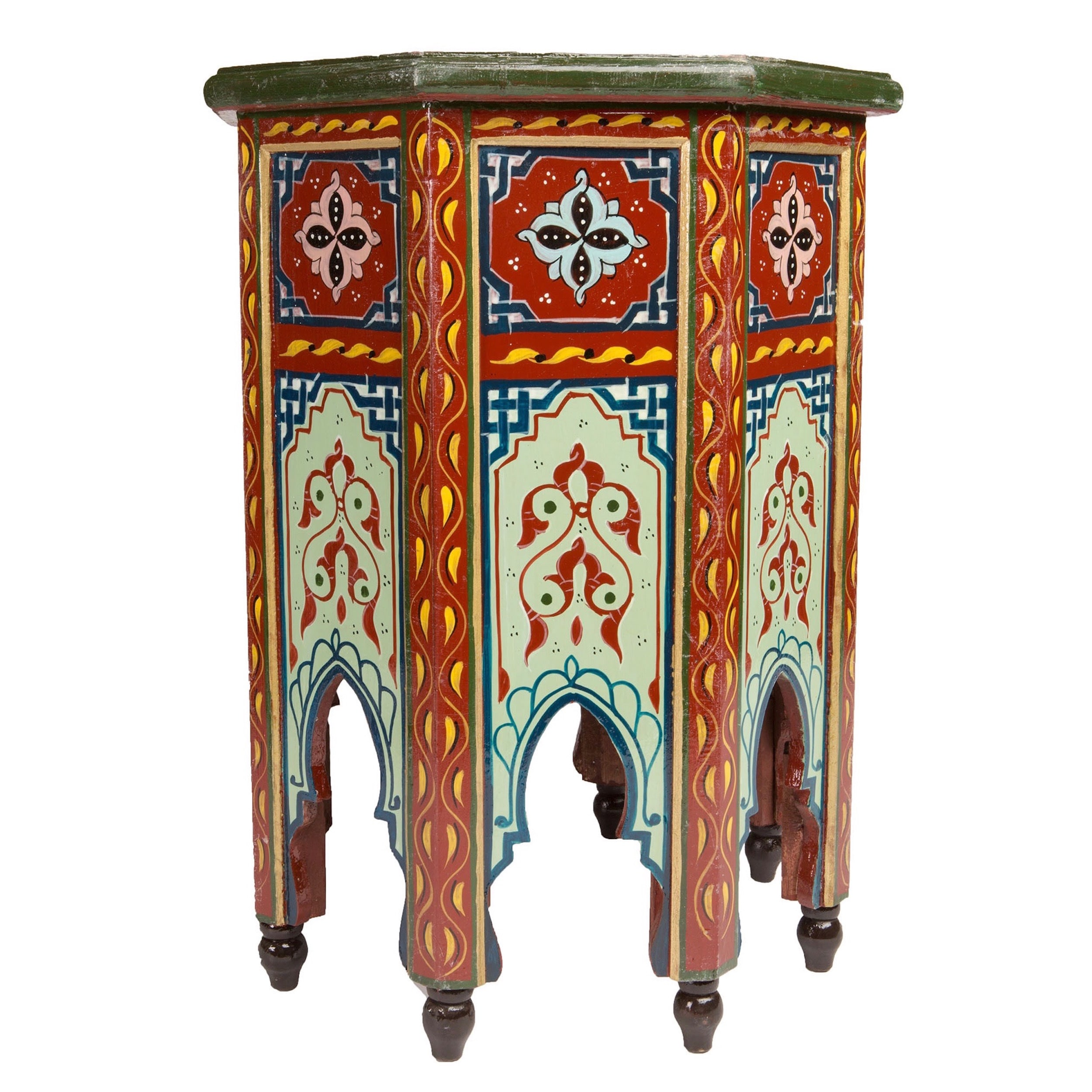 Ordinaire Shop Handmade Colorful End Table (Morocco)   On Sale   Free Shipping Today    Overstock.com   12653214