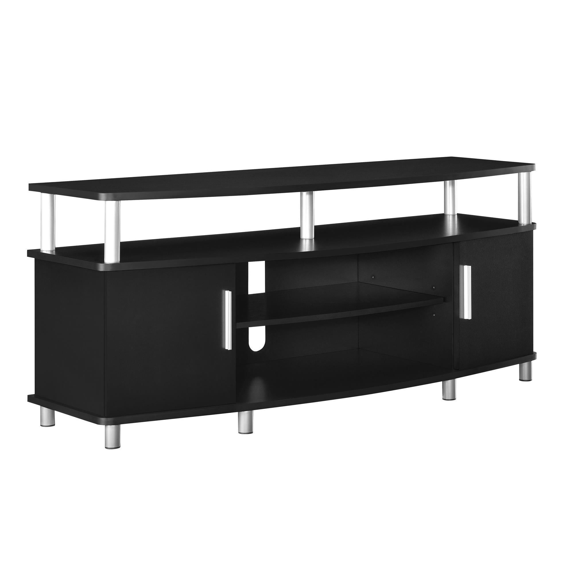 Shop Ameriwood Home Carson 50 Inch Black Tv Stand On Sale Free