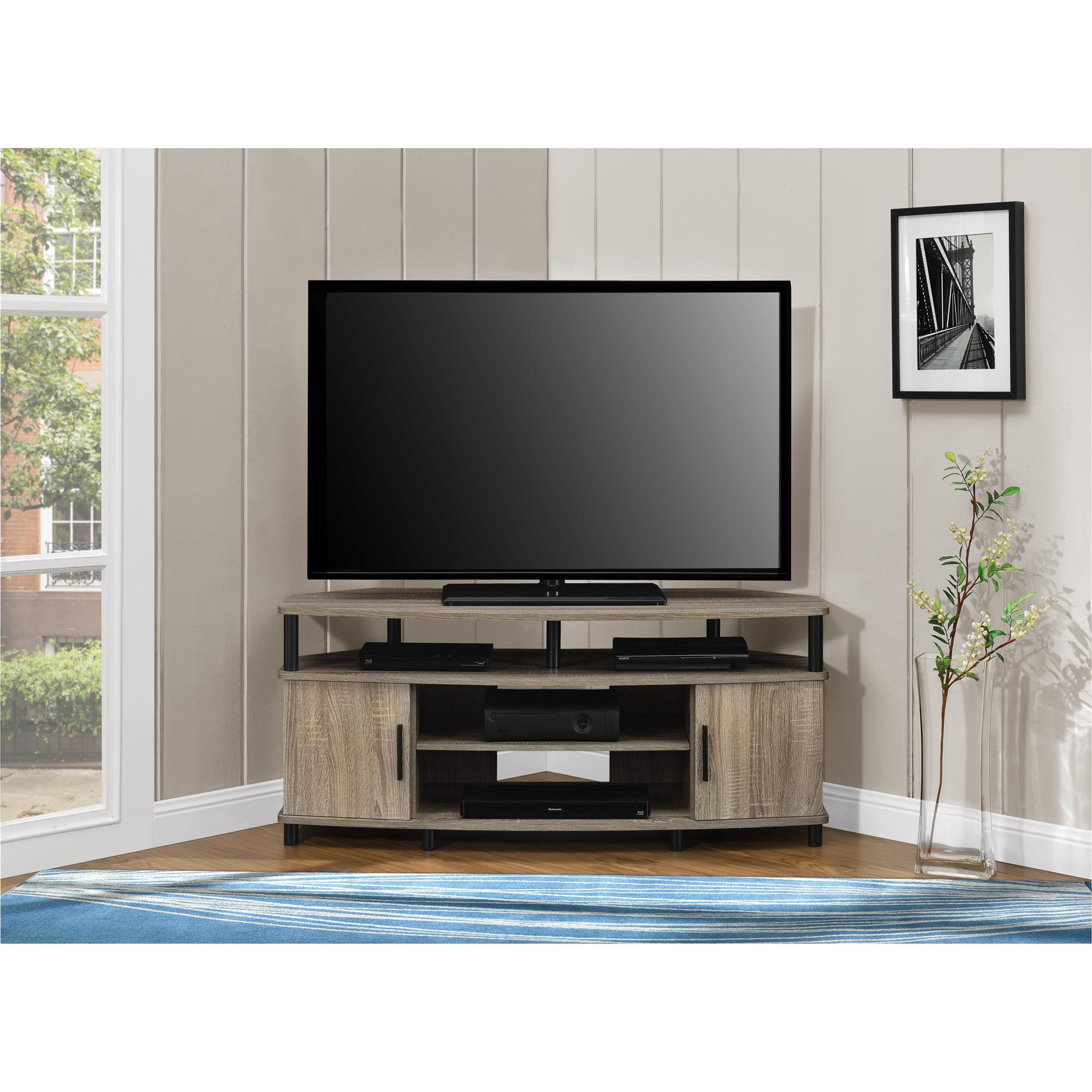 Shop Ameriwood Home Carson 50 Inch Sonoma Oak Corner Tv Stand Free
