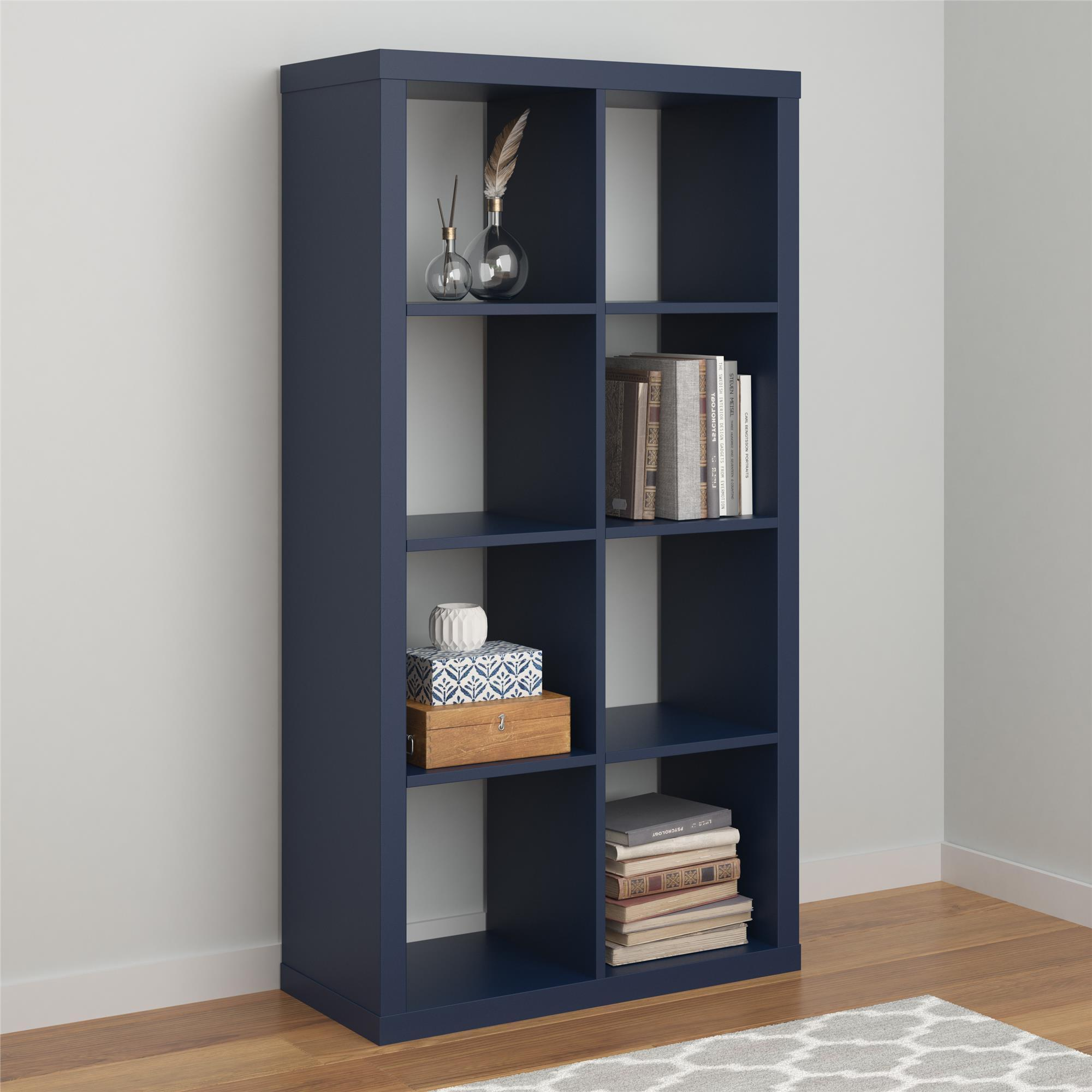 multiple wide navy bookcases mainstays com orion walmart finishes shelf ip bookcase