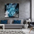 Ready2HangArt Tristan Scott 'Glitzy Mist XIV' Canvas Art