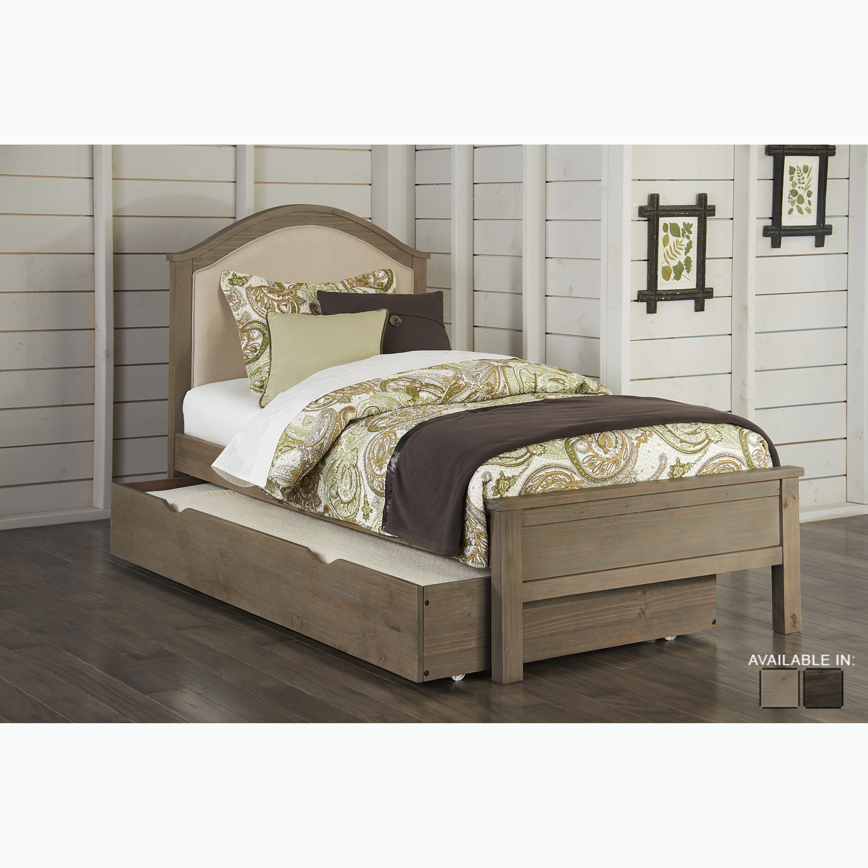 Highlands Collection Driftwood Trundle Bed - Free Shipping Today ...