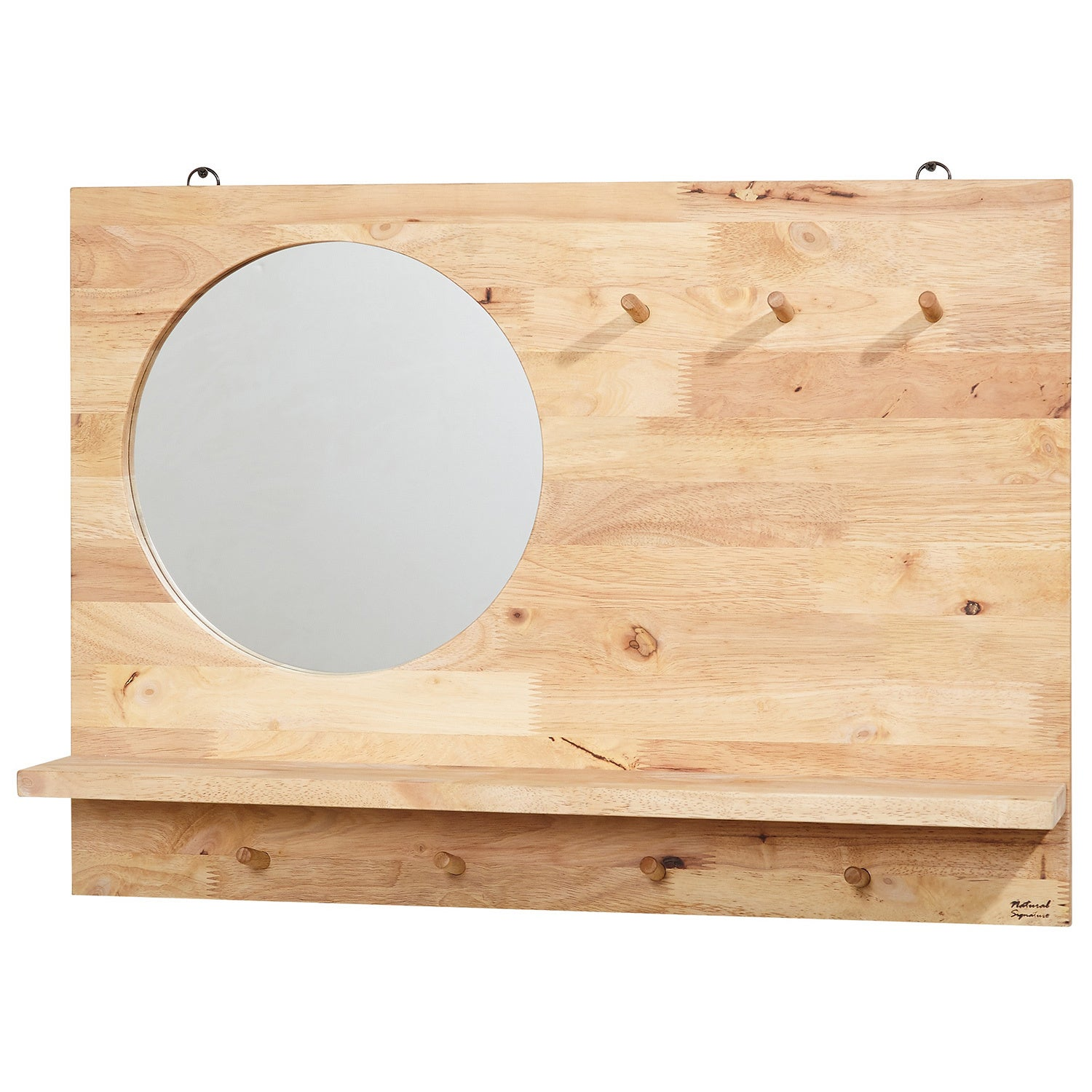 Simple Living Her Rubberwood Mirror - Free Shipping Today ...