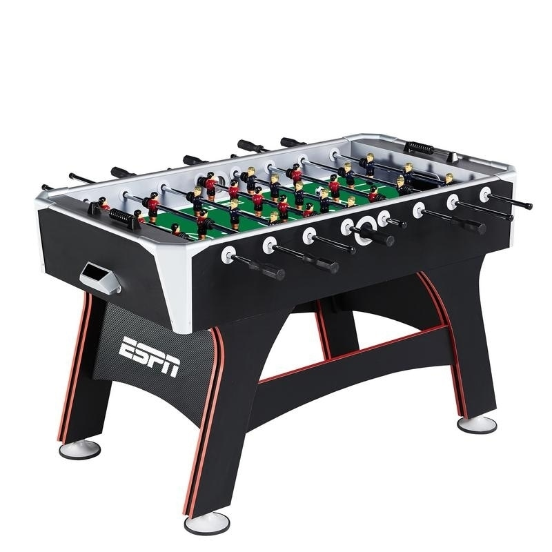 Shop ESPN Multicolored Wooden 56 Inch Foosball Table   Free Shipping Today    Overstock.com   12664844