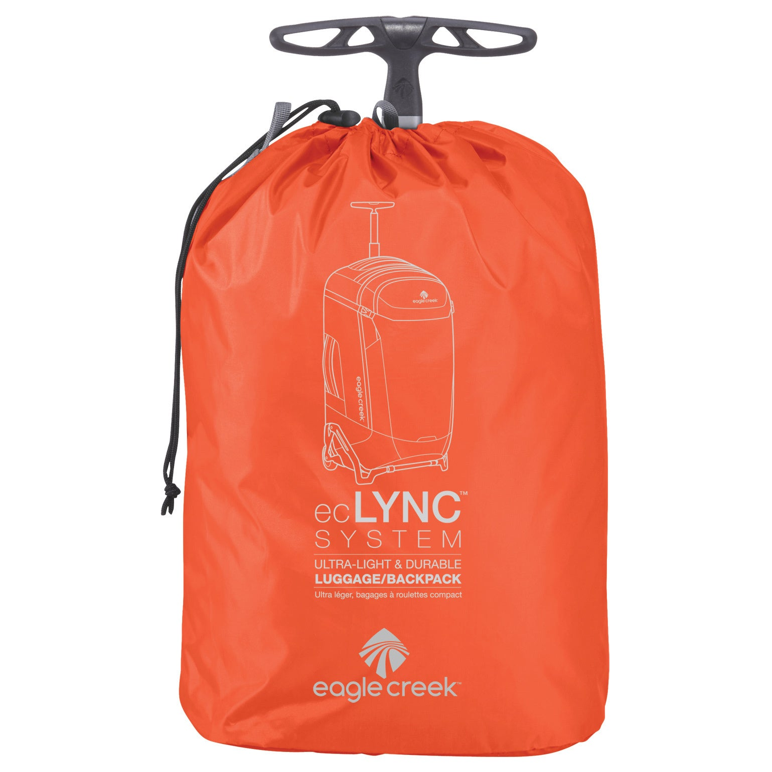Eagle Creek Lync System 26-inch Collapsible Rolling Backpack/Suitcase