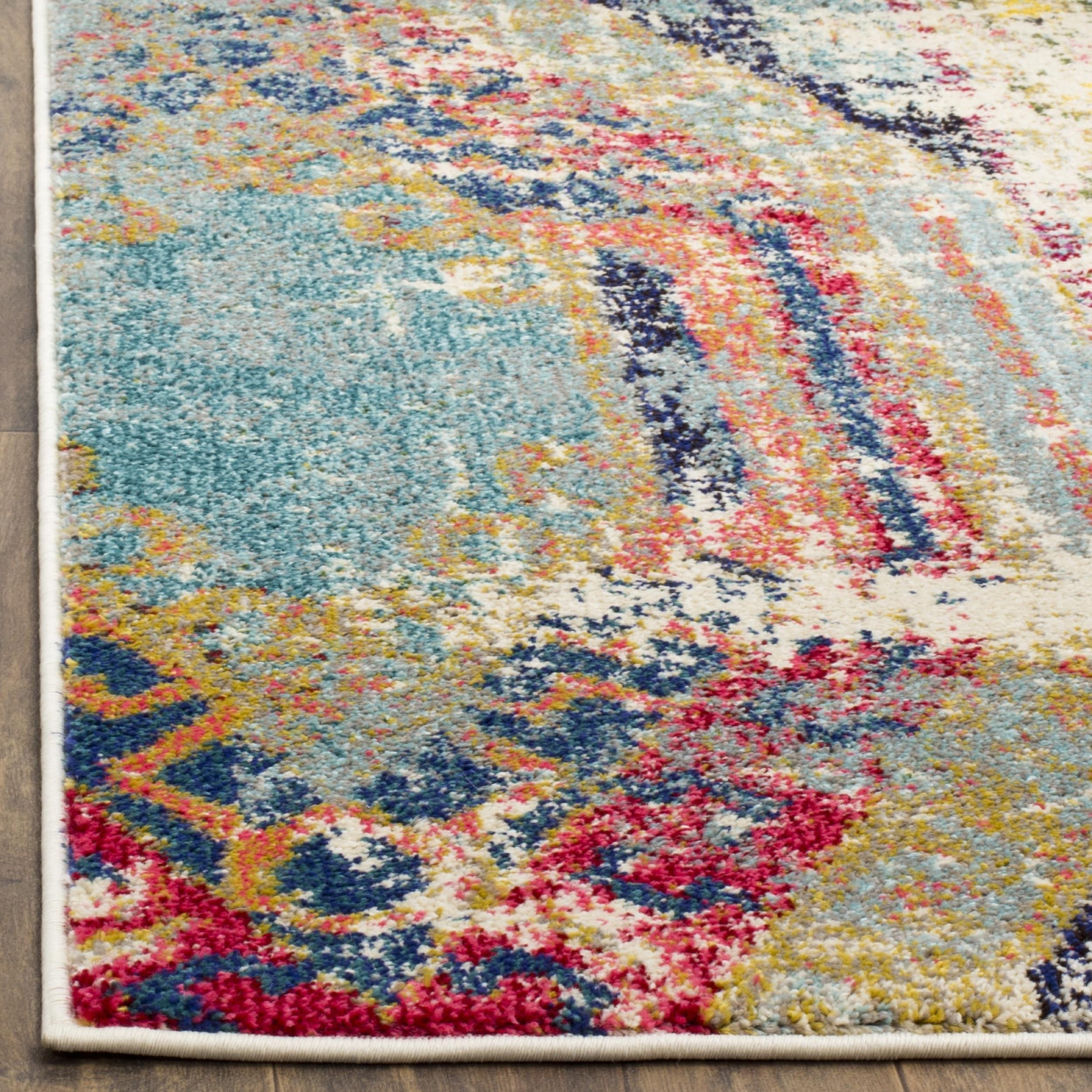 vintage rug pastel fullxfull small aztec turkish runner rugaztec bohemian p il fashion oushak