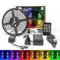 LED Concepts 16.4-foot Colored LED Strip Rope Lights Music-controlled Waterproof Lights