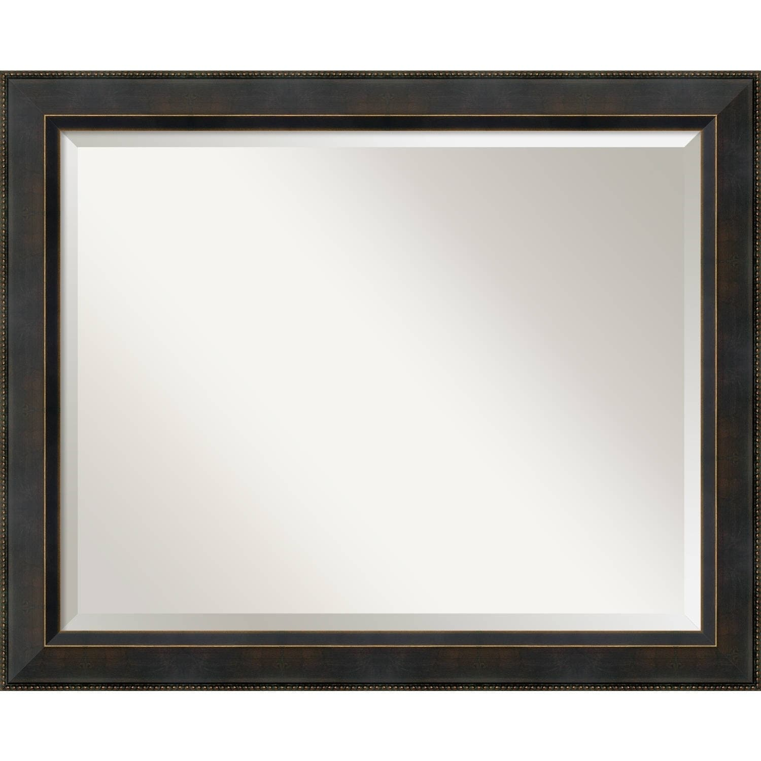 Bathroom Mirror Large, Signore Bronze 33 x 27-inch - Free Shipping ...
