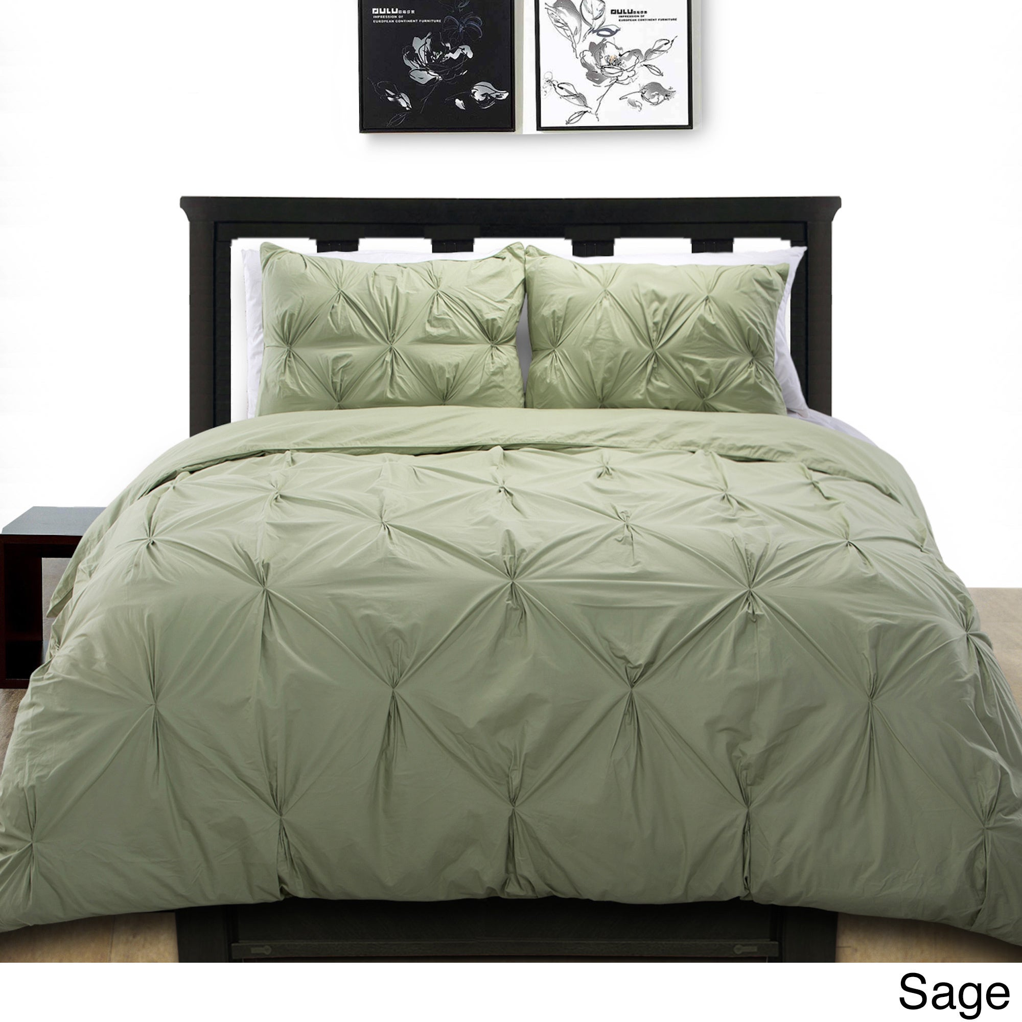 pleated california pintuck set shop product duvet by design den nmk image cover of charcoal diamond