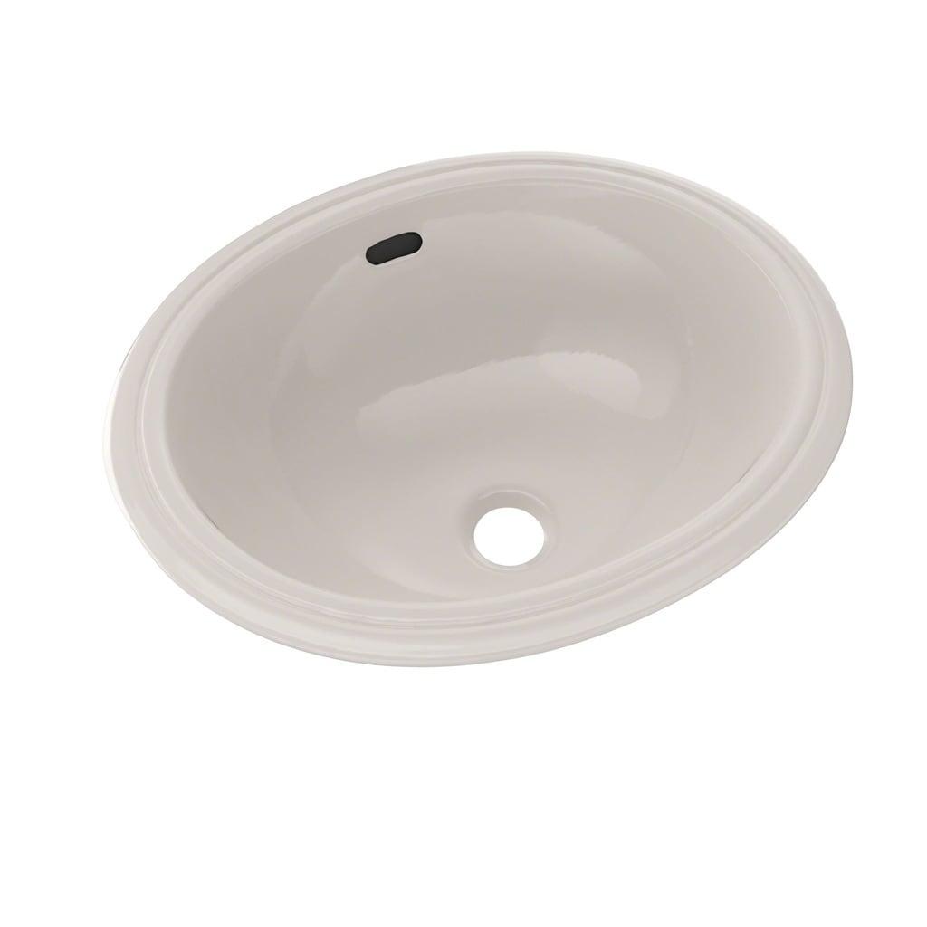 Toto Oval 15 X 12 Narrow Undermount Bathroom Sink Lt577 Sedona Beige Free Shipping Today 12675167