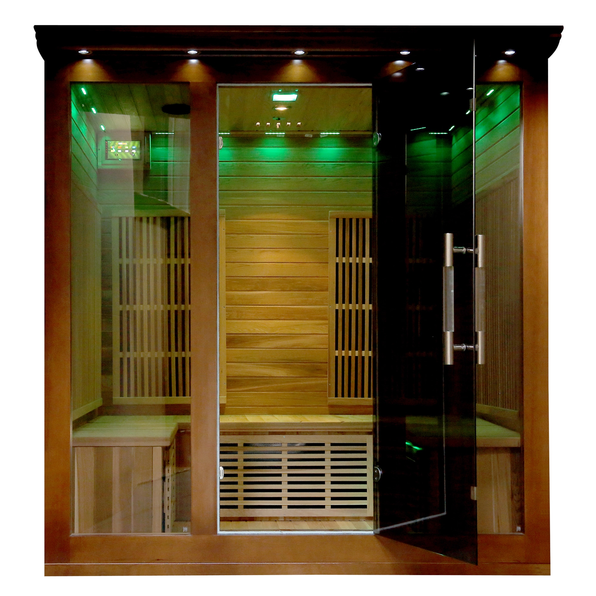 Brand-new Radiant Sauna Cedar 3- to 4-person Elite Premium Sauna - Free  RL77