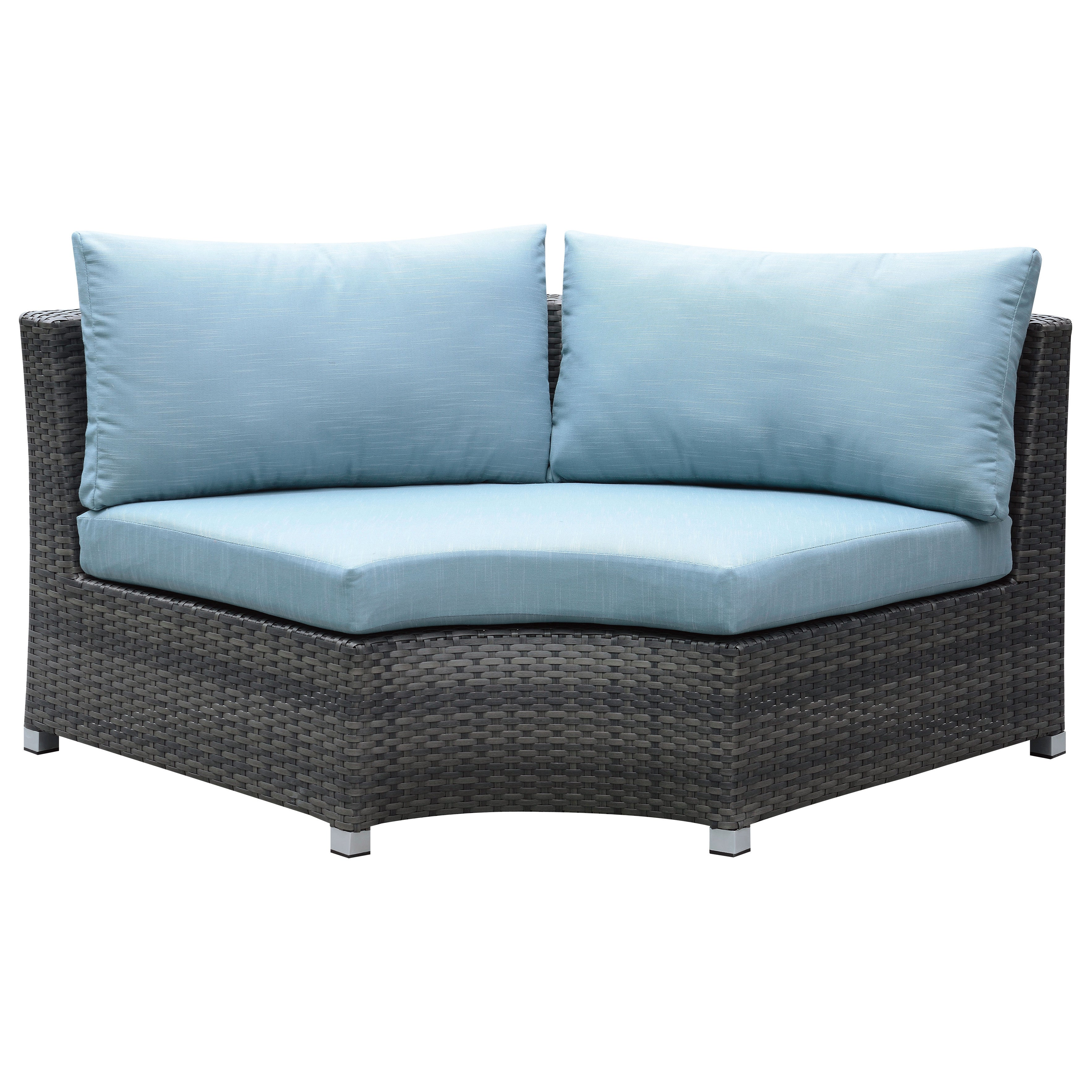Furniture of America Griffith Modern 8 piece Dark Grey Modular