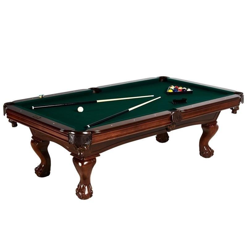 Awe Inspiring Barrington Hawthorne 100 Inch Pool Table Interior Design Ideas Gentotryabchikinfo