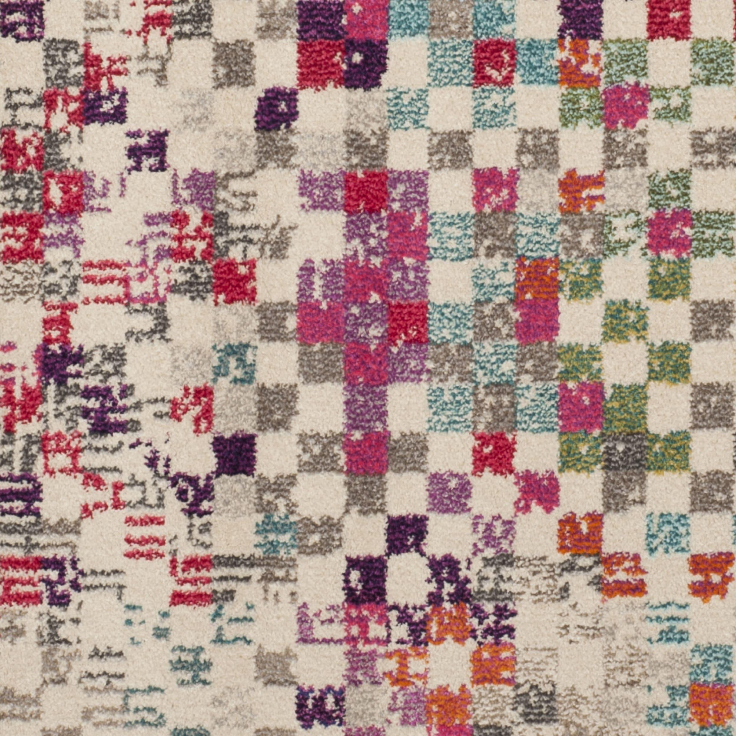 Safavieh Monaco Vintage Bohemian Pixels Grey / Multi Rug (5\u0027 x 8 ...
