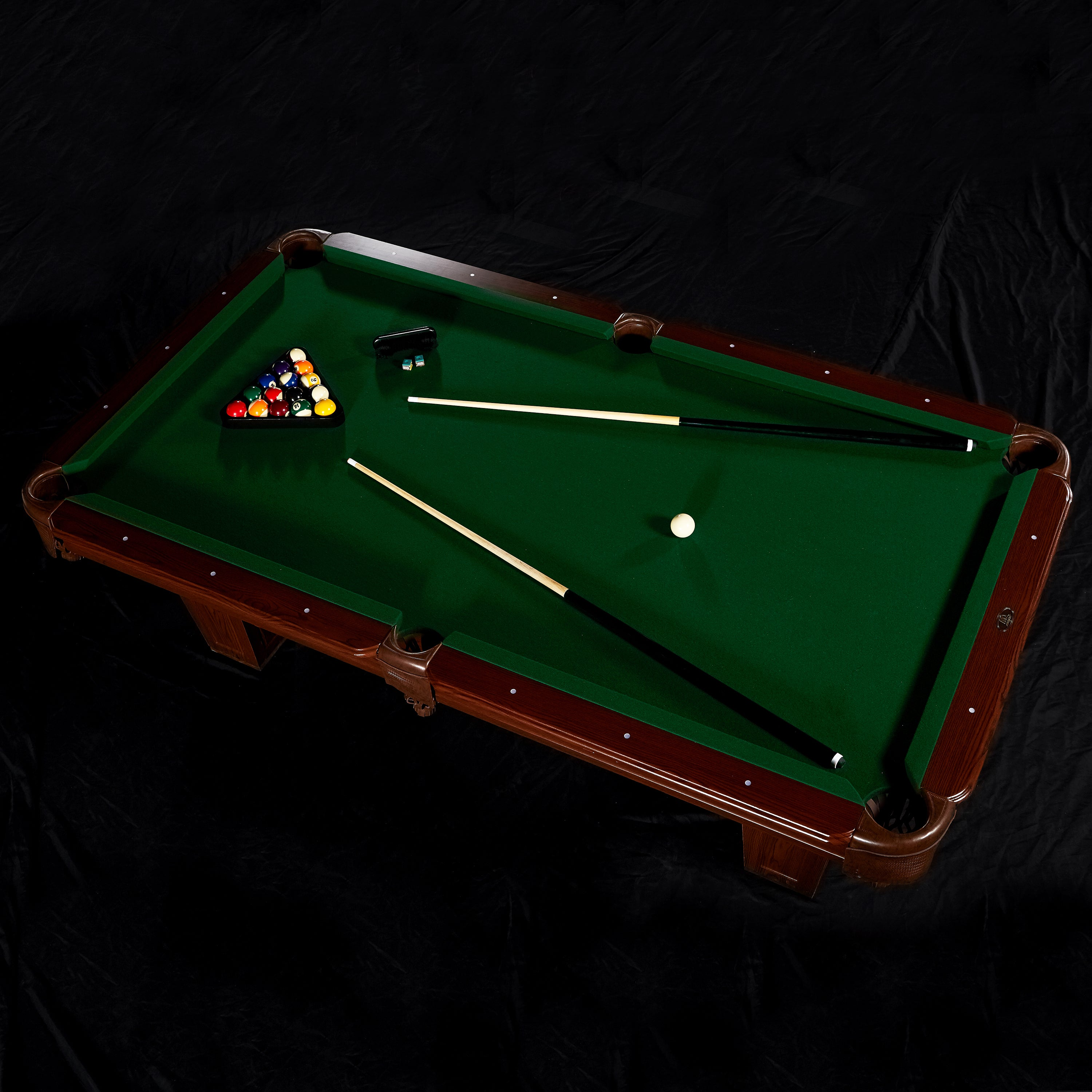 Shop MD Sports Inch Billiard Table Free Shipping Today - Md pool table