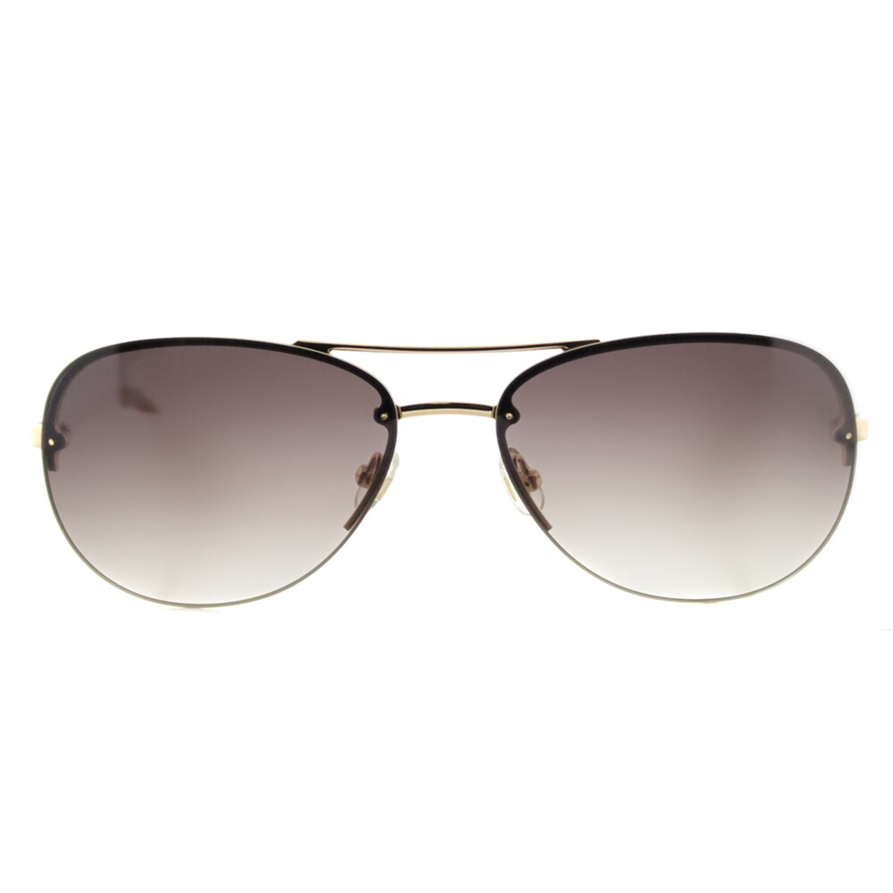 f0cd2966d11e3 Shop Kate Spade KS Beryl AU2 Rose Gold Metal Brown Gradient Lens Aviator  Sunglasses - Free Shipping Today - Overstock - 12681042