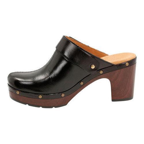 90f4490c90ef Shop Women s Clarks Ledella York Clog Black Leather - Free Shipping ...