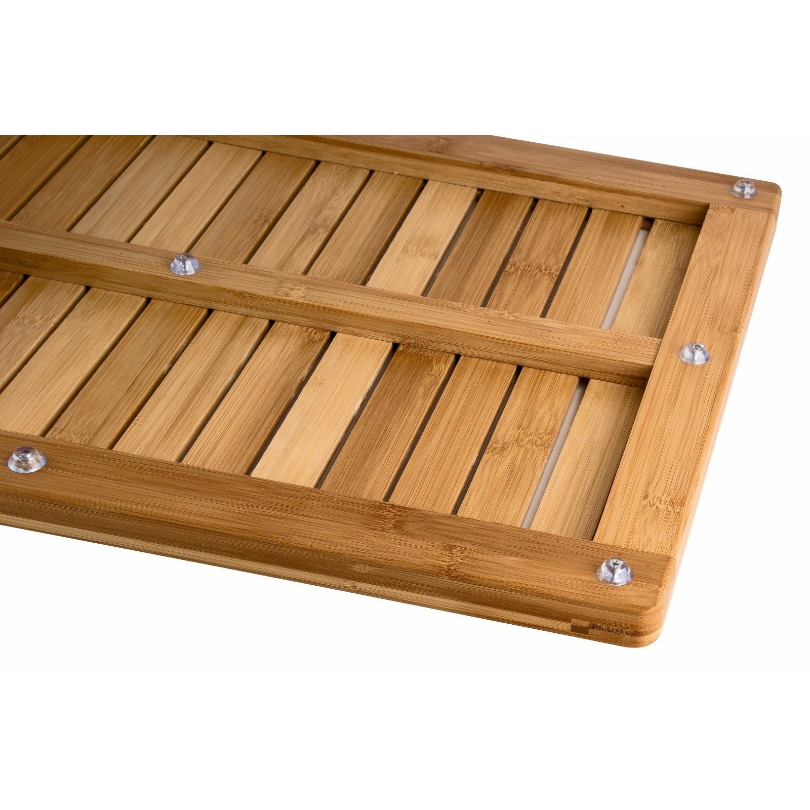Shop Bamboo Floor and Shower Mat - On Sale - Free Shipping On Orders ...