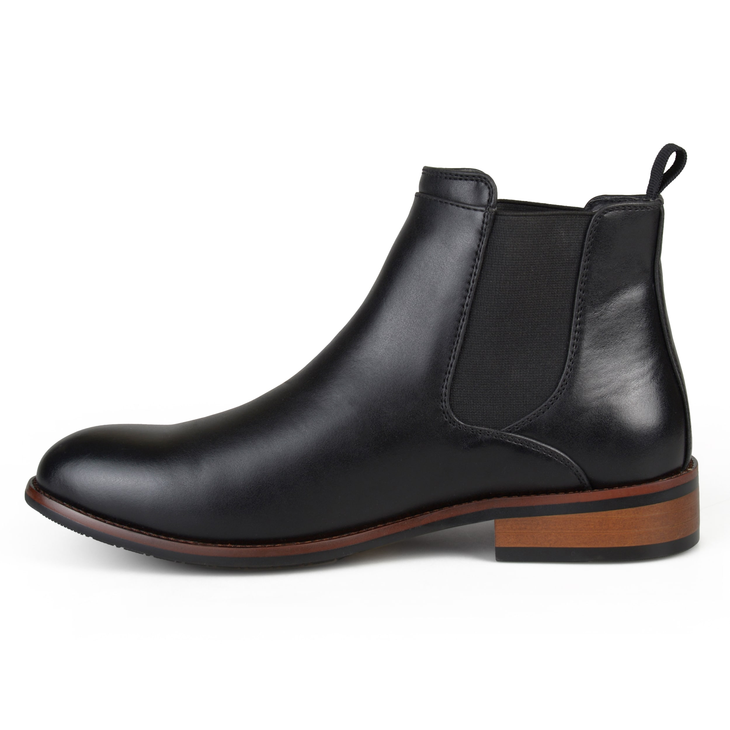Men's 'Landon' Round Toe High Top Chelsea Dress Boots - On Sale - Free  Shipping Today - Overstock.com - 12706210