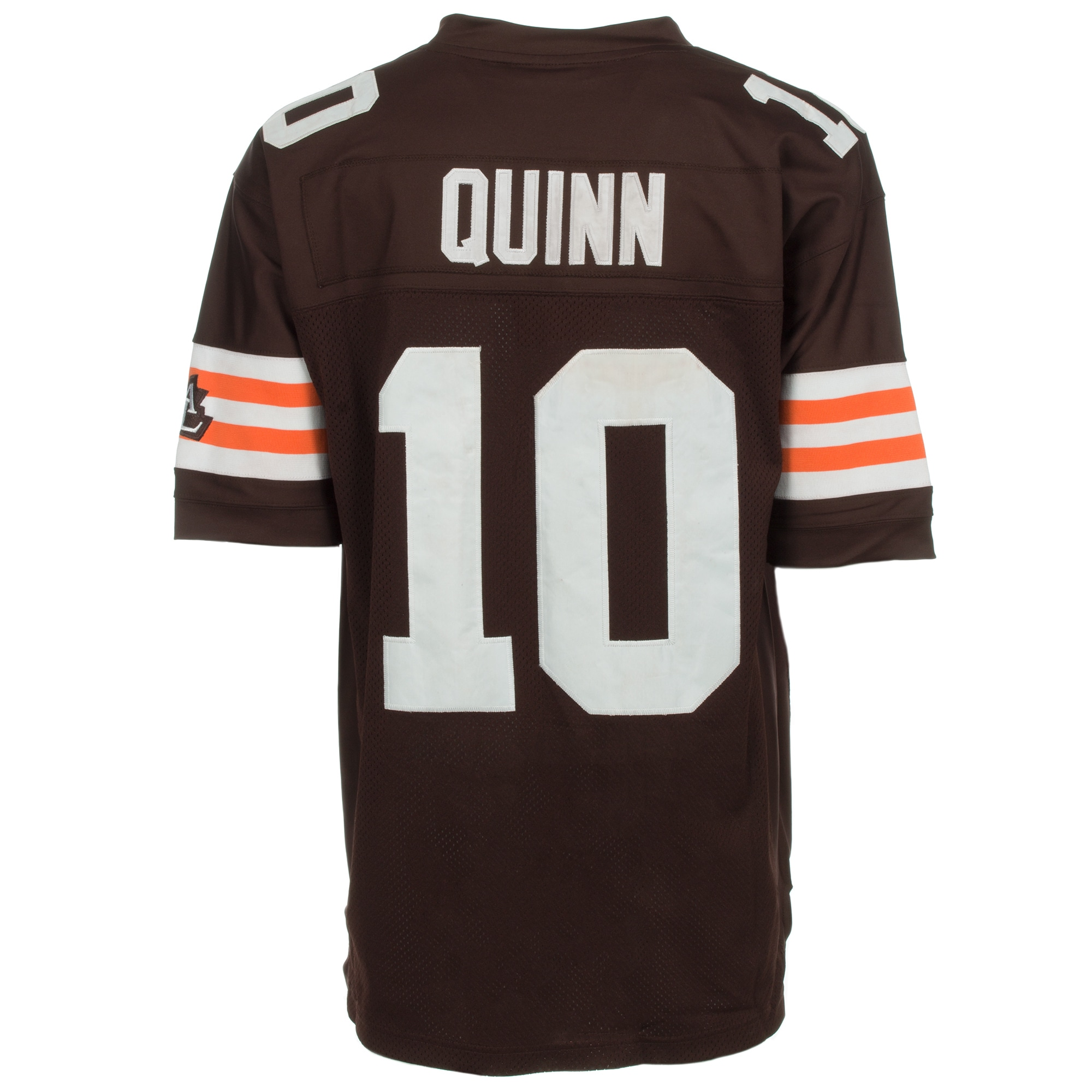 57c236eb4 ... wholesale shop brady quinn jersey 10 nfl cleveland browns mitchell ness  in brown as is item