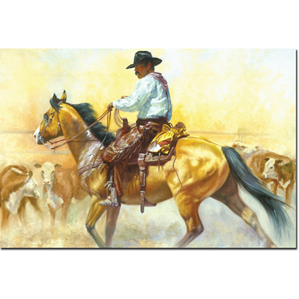 Perfect Cowboy Wall Art Vignette - Wall Art Collections ...