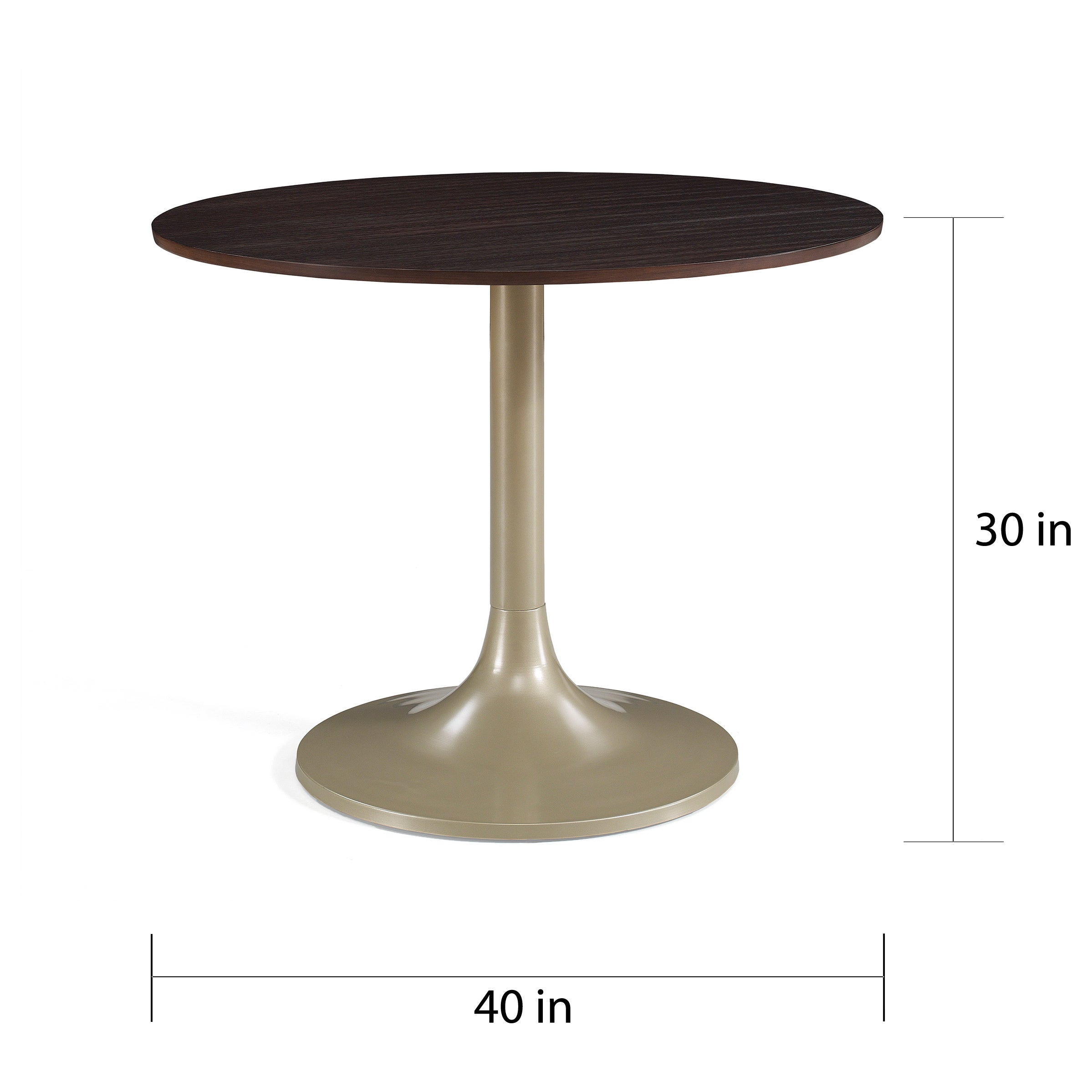 Shop 40 Inch Twilight Dining Table   Free Shipping Today   Overstock.com    12714630