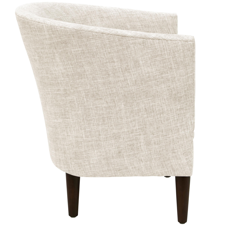 Shop Carson Carrington Egilsstadir White Tub Chair - Free Shipping ...