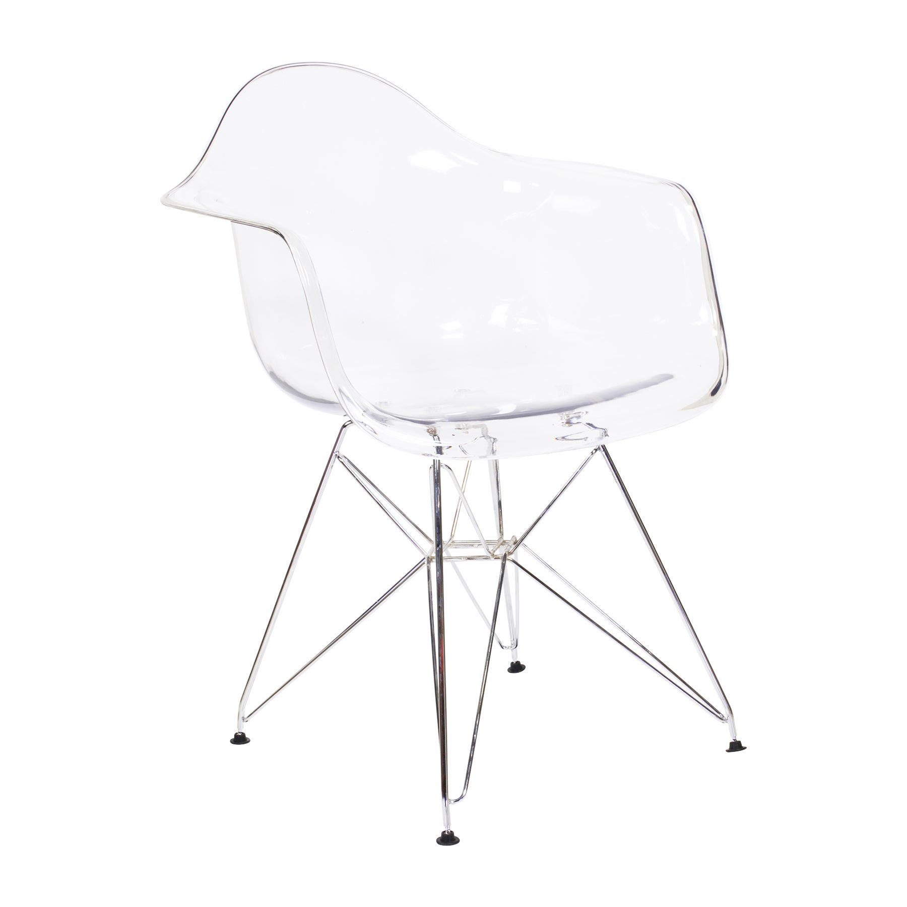 Shop Molded Plastic Armchair   Free Shipping Today   Overstock.com    12729410