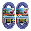 US Wire 25-Foot Blue Cold Weather Extension Cord (2-Pack)