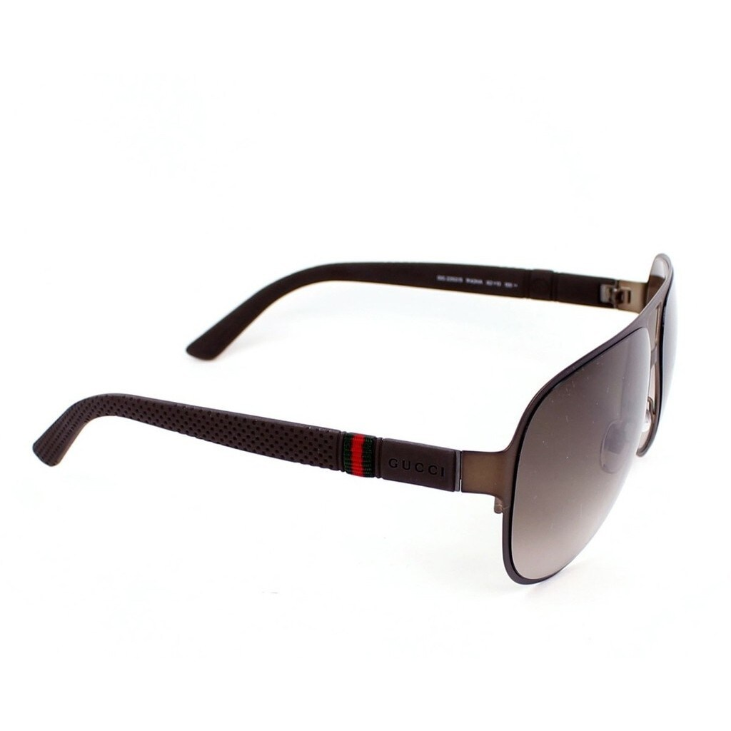 09bc15b68ceaa Shop Gucci GG2252 S 0R42 Mens Aviator Sunglasses - Free Shipping Today -  Overstock - 12734917