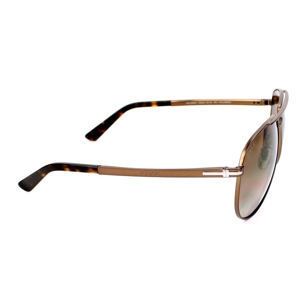 375f198781015 Shop Gucci GG2269 S 0ZG3 Mens Aviator Sunglasses - Free Shipping Today -  Overstock.com - 12734982