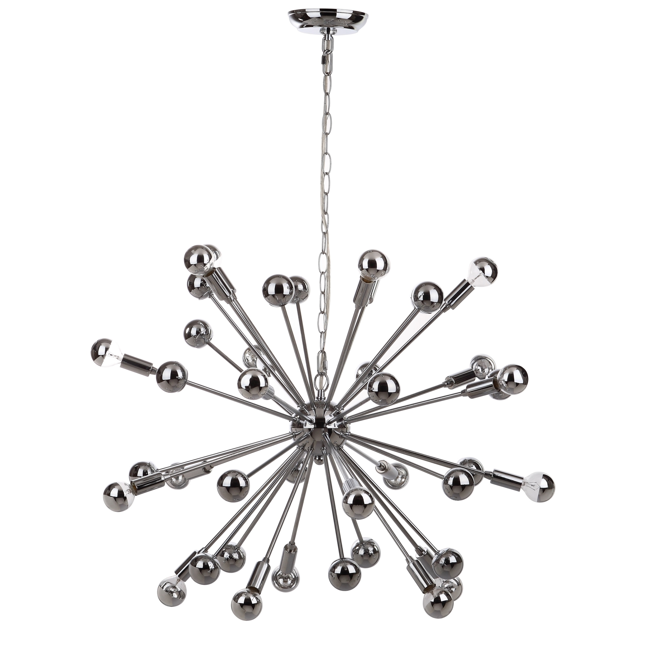 Popular Safavieh Lighting 31-inch Starburst Sputnik 20-light Chrome  AJ21