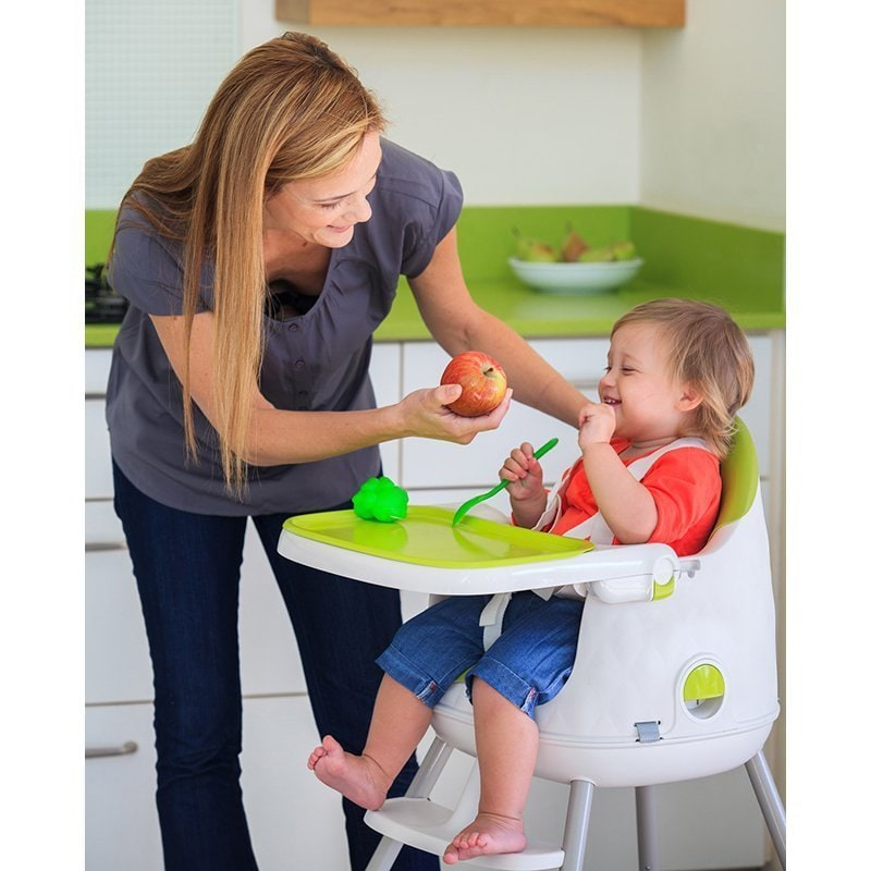 f35ee936a2b5d Shop Keter Multi-Dine 3 Stage Portable Folding High Chair - Free Shipping  Today - Overstock - 12739782