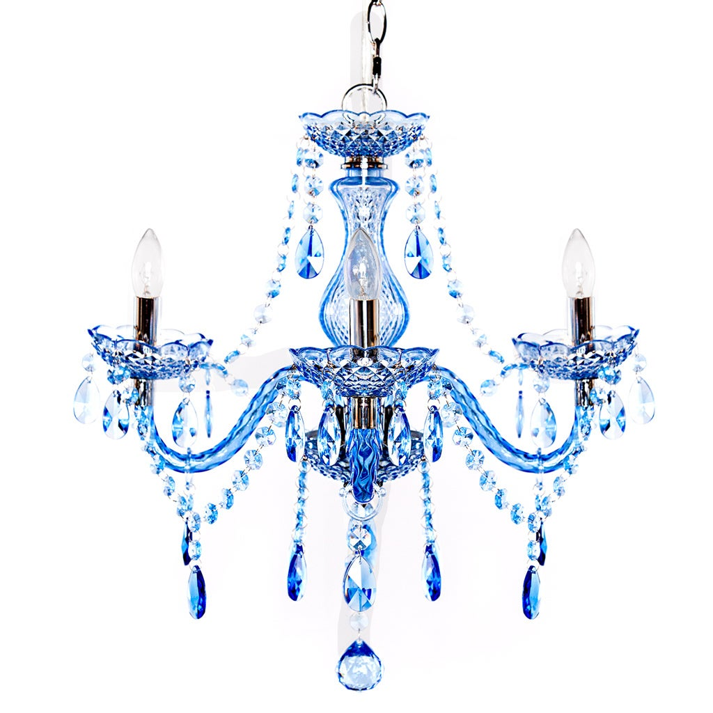 Shop river of goods acrylic crystal 175 inch h jeweled 3 arm shop river of goods acrylic crystal 175 inch h jeweled 3 arm chandelier free shipping today overstock 12750855 aloadofball Image collections