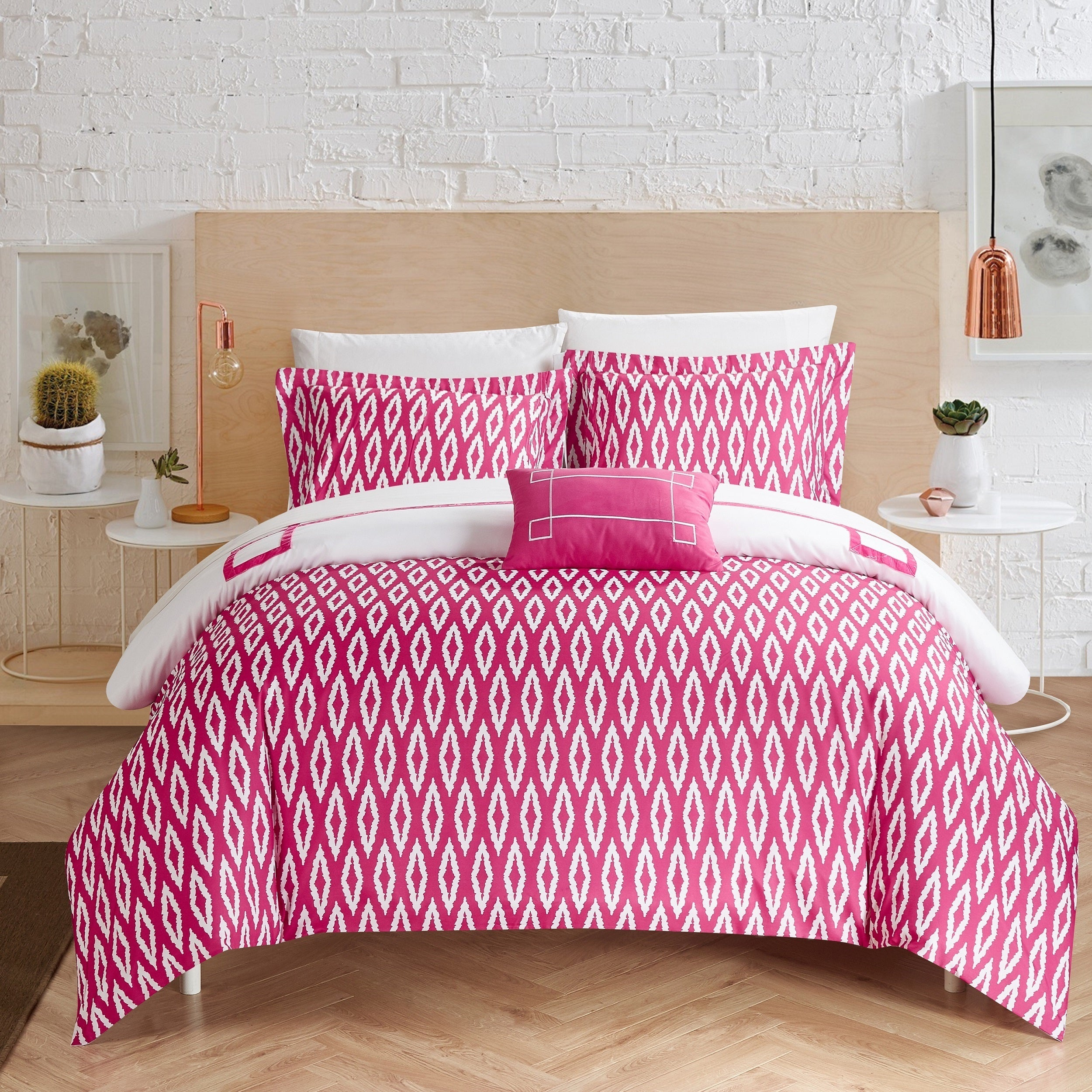 covers pin pink cover floral duvet set stylish quilt modern cerise ruffles colour