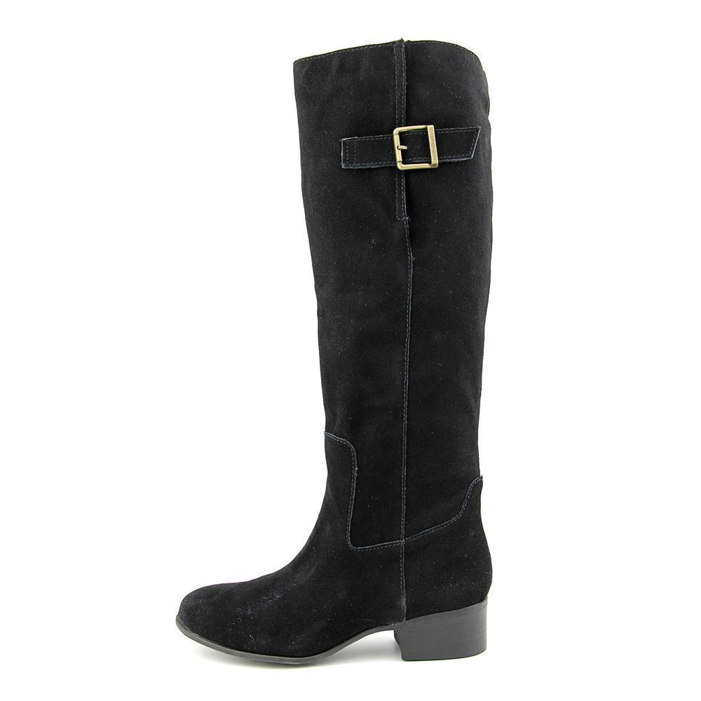 008fb5938eb Steve Madden Women's Loren Black Suede Regular Boots