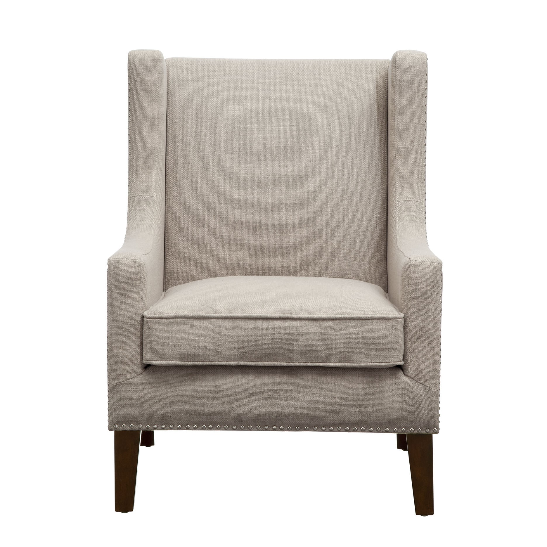 Superieur Shop Madison Park Weston Linen Wing Chair   Free Shipping Today    Overstock.com   12754712