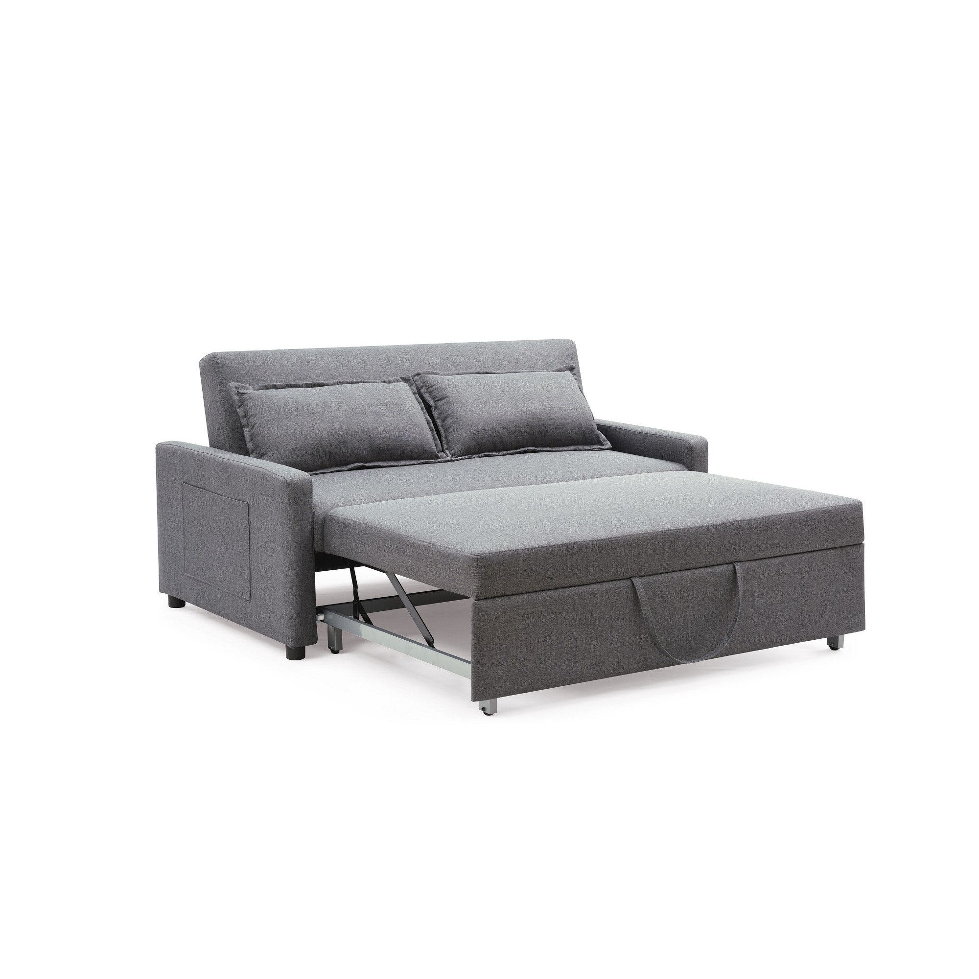 Modern Convertible Sofa with Pullout Bed | Overstock.com Shopping - The  Best Deals on As Is