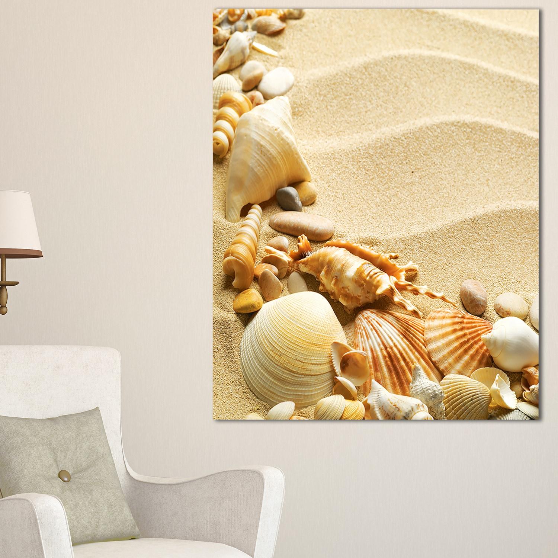 Delighted Seashell Wall Decor Contemporary - The Wall Art ...